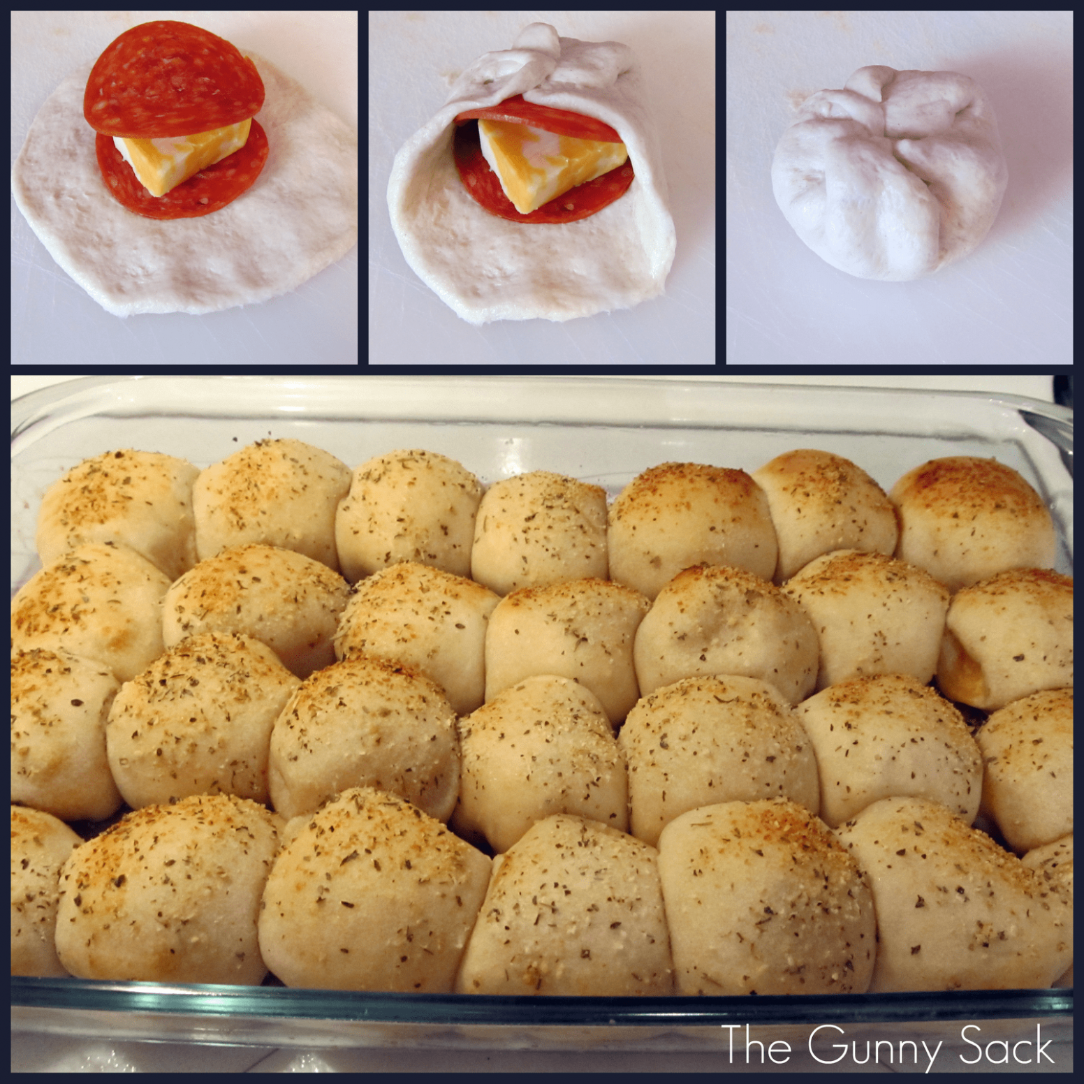 Easy Pepperoni Rolls - Recipes Using Pizza Rolls