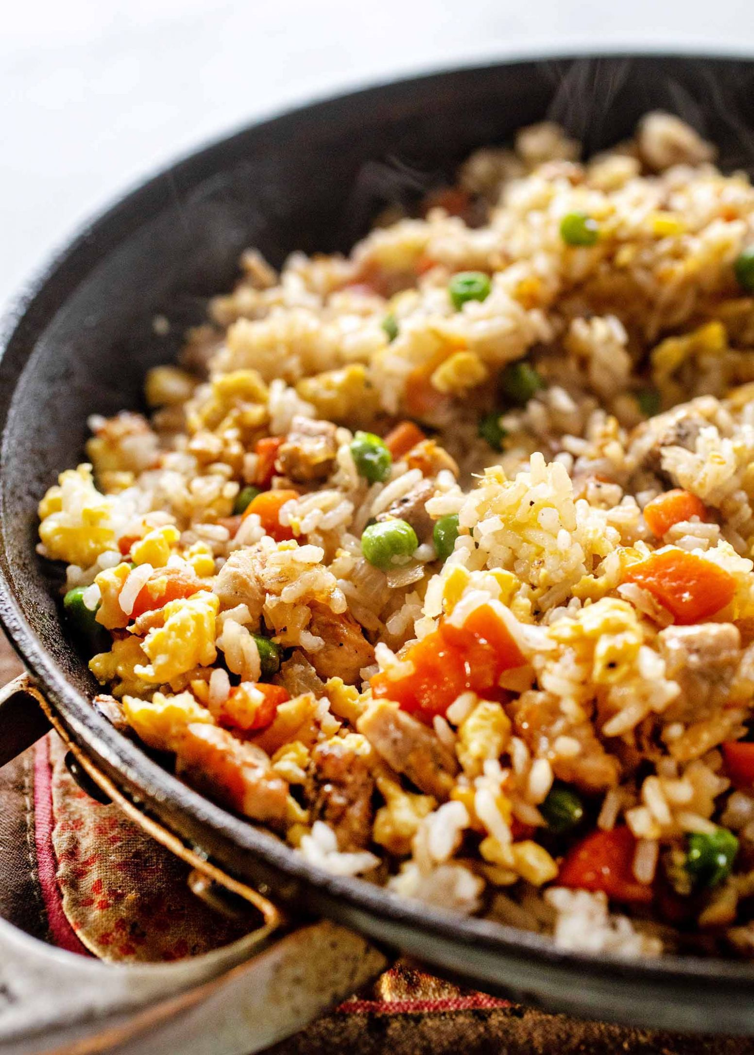 Easy Pork Fried Rice with Frozen Vegetables - Recipes Pork And Rice