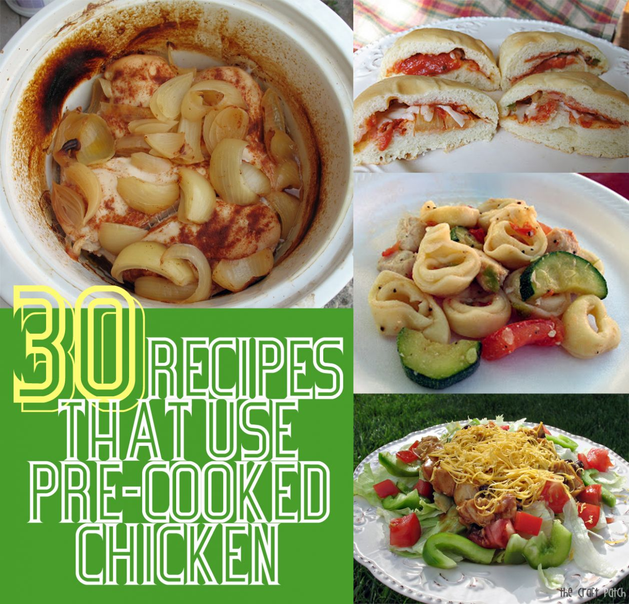 Easy Pre Cooked Chicken Breast Recipes