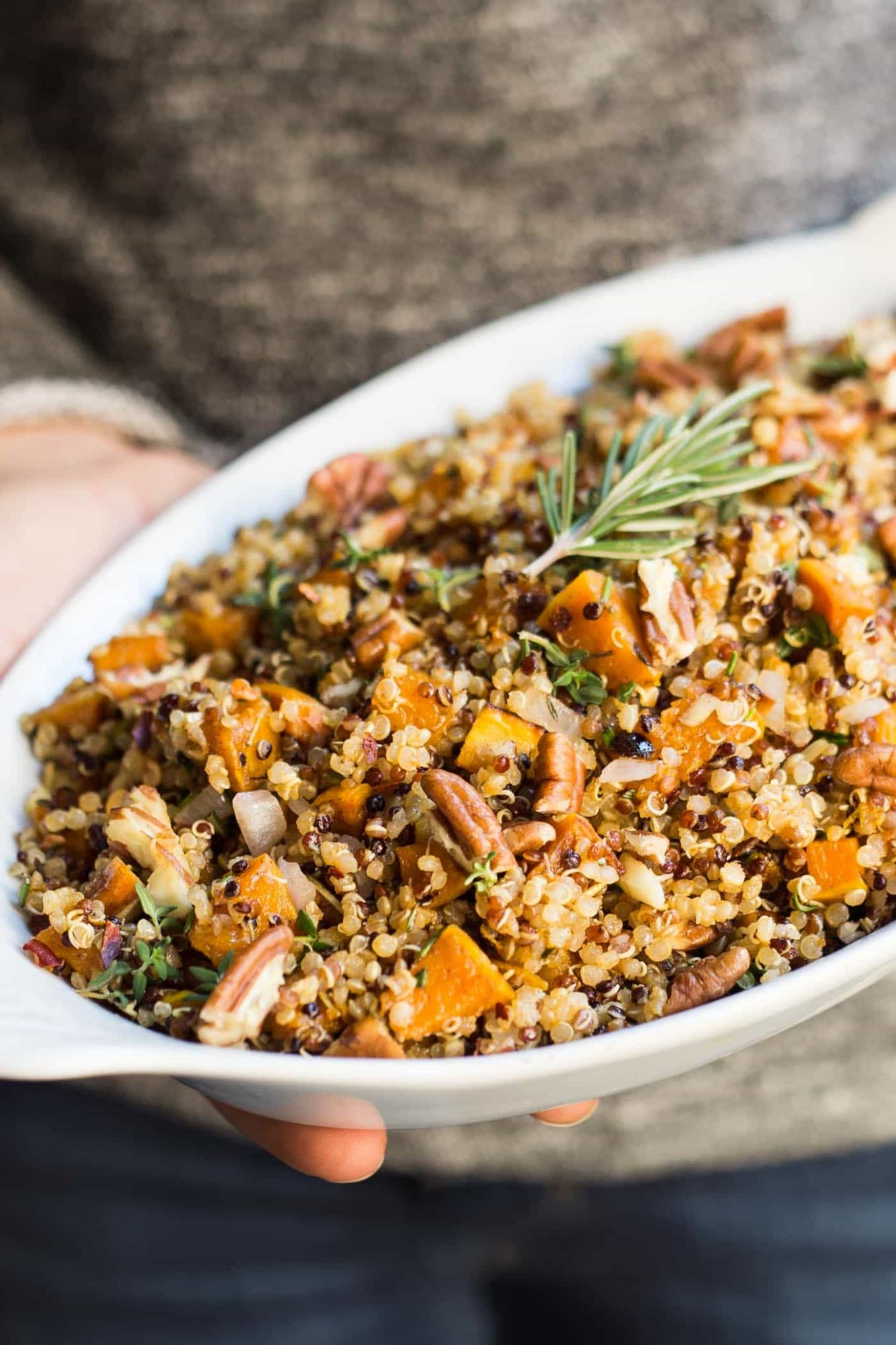 Easy Quinoa Stuffing - Recipe Vegetarian Quinoa Stuffing