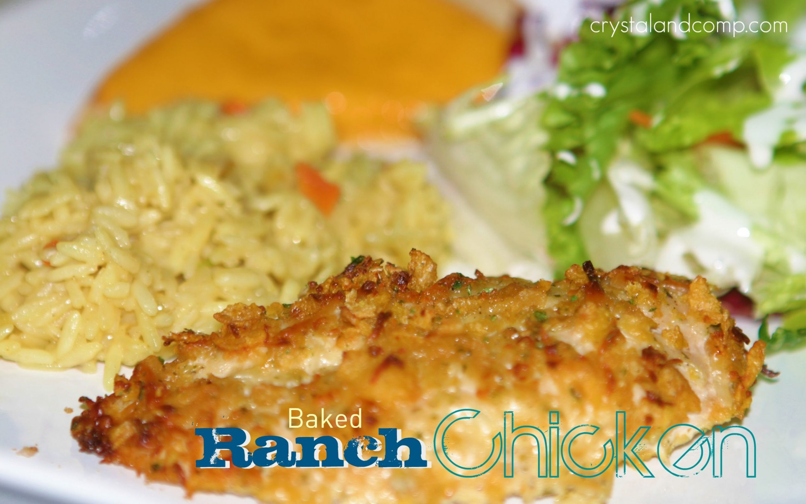 Easy Recipes: Baked Ranch Chicken