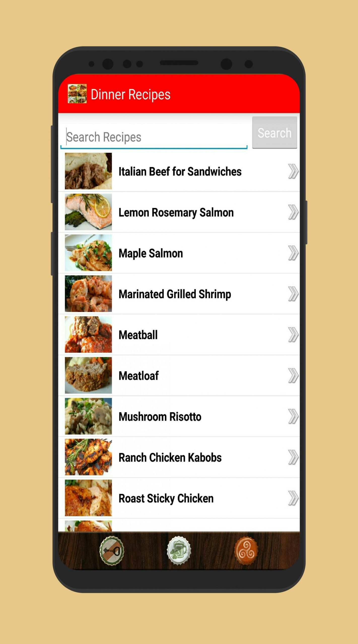 Easy Recipes : Dinner Offline App for Android - APK Download - Easy Recipes App