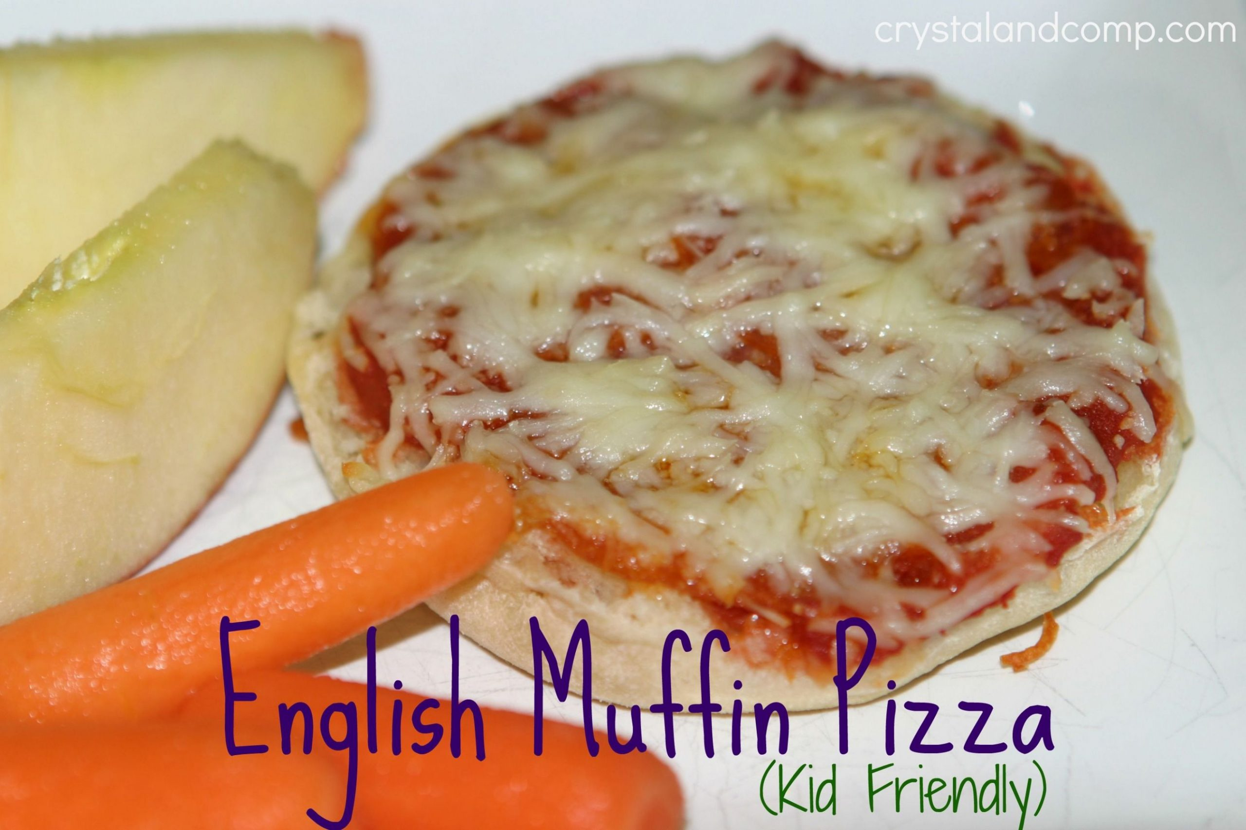 Easy Recipes: English Muffin Pizza (Kid Friendly) | English muffin ..