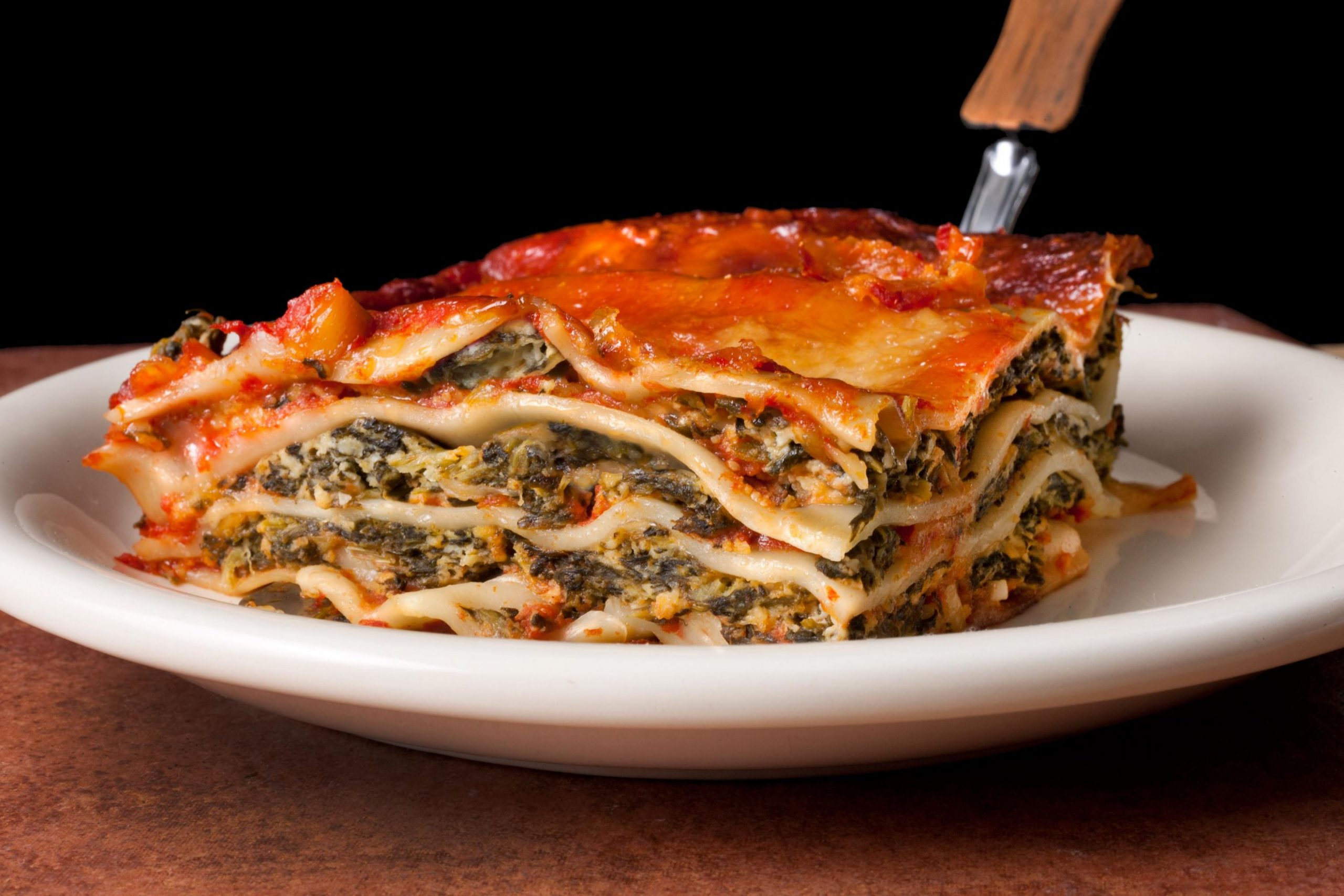 Easy Spinach Lasagna