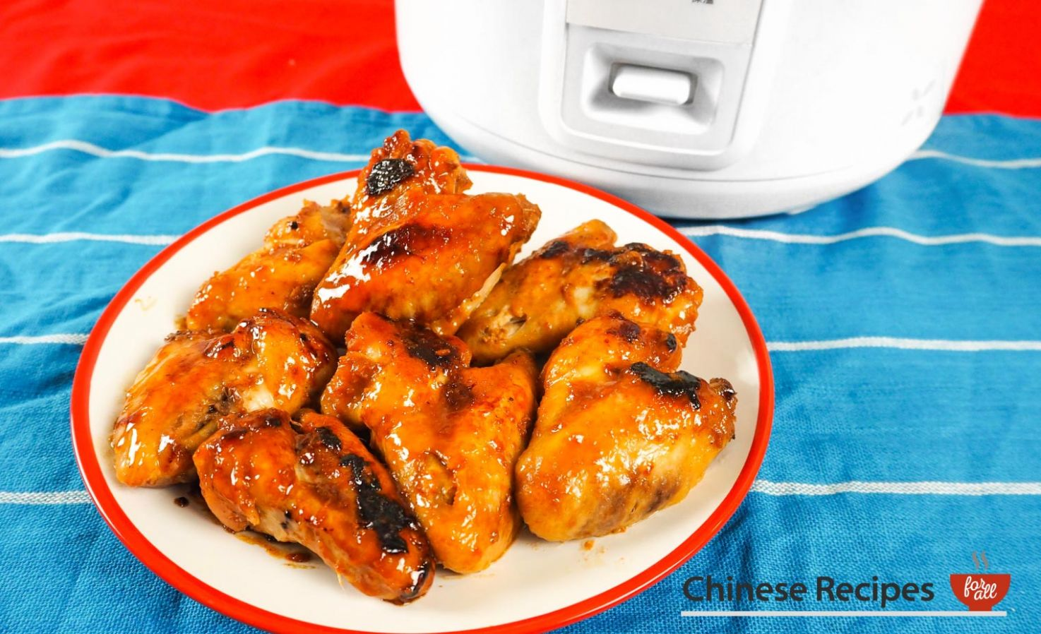 Easy Sticky Chicken Wings [Rice Cooker Recipe] - Easy Recipes Rice Cooker