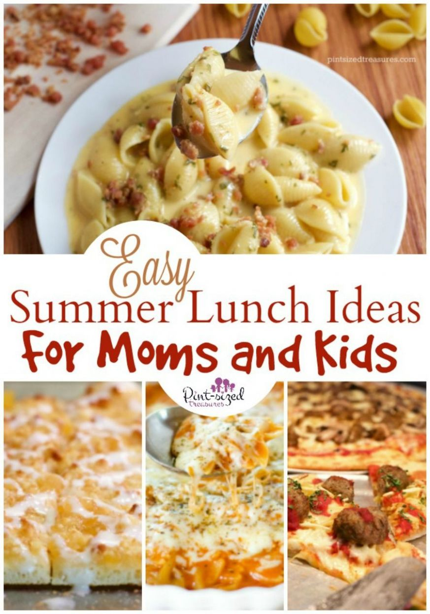 Easy Summer Lunch Ideas for Moms and Kids | Easy summer meals ..