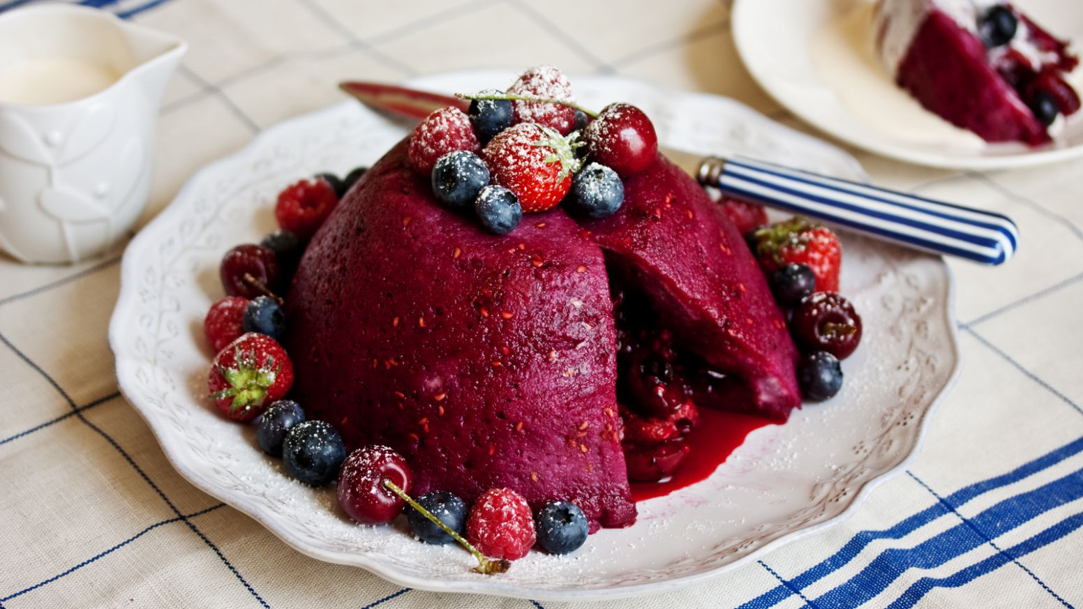 Easy summer pudding
