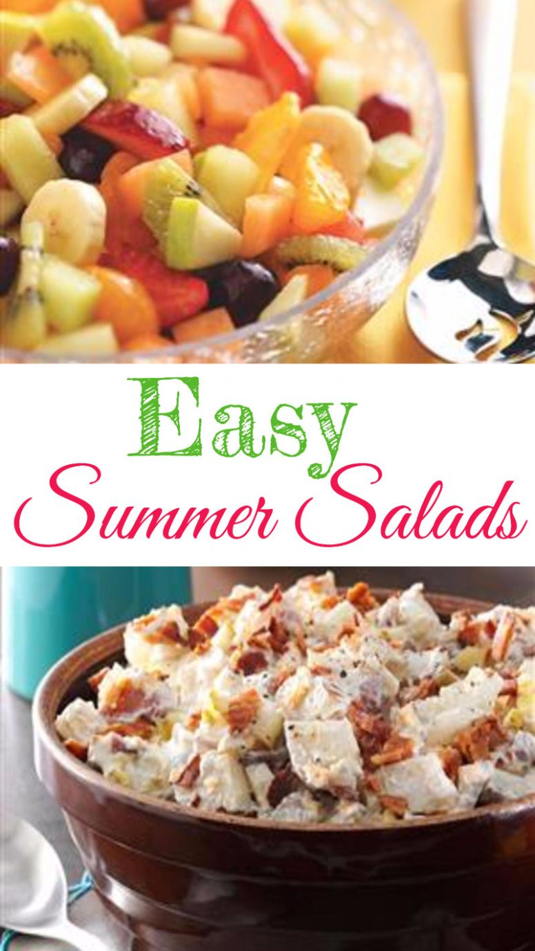Easy Summer Salads for a Crowd - Summer Salad Recipes We Love - Summer Recipes For A Crowd