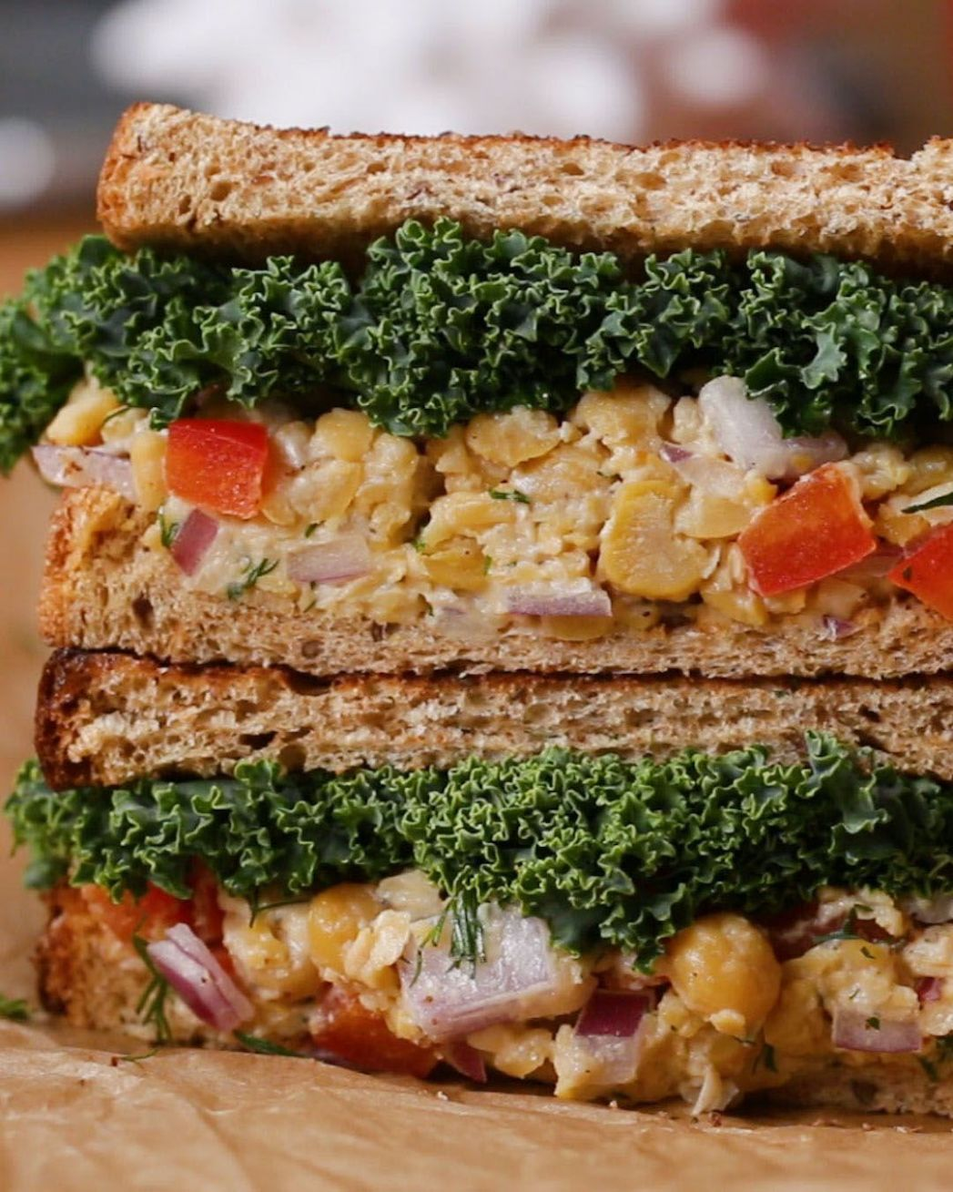 Easy To Pack Vegan Lunches by Tasty in 8 | Vegan lunch recipes ..