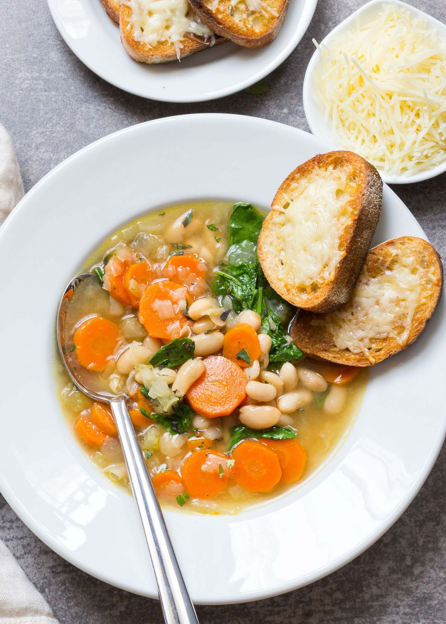 Easy Tuscan Bean Soup