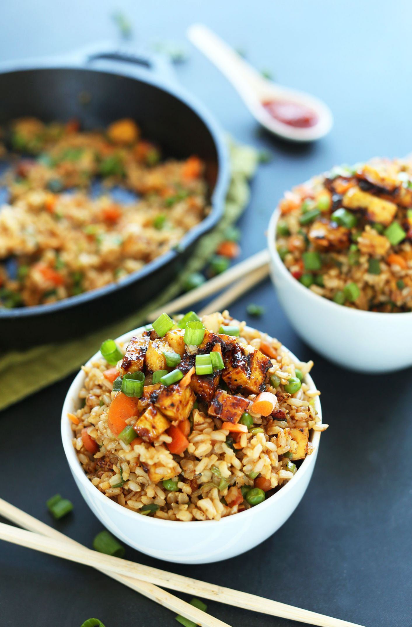 Easy Vegan Fried Rice - Rice Recipes Healthy Easy