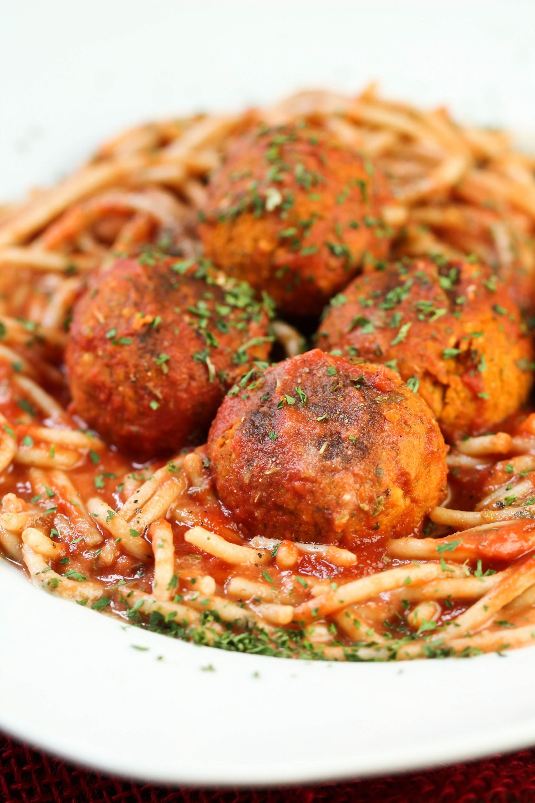Easy Vegan Meatballs - Recipes Vegetarian Meatballs