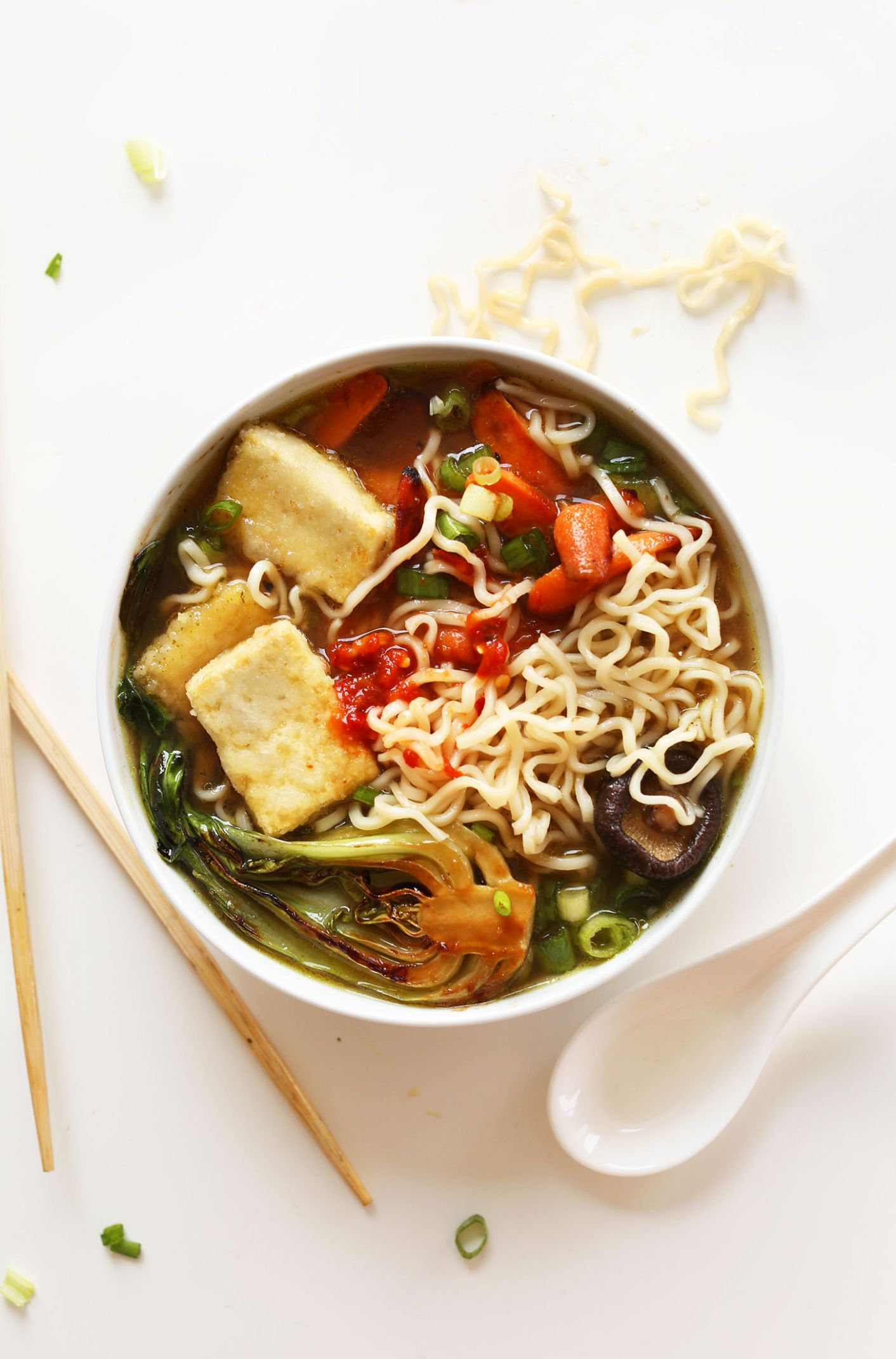 Easy Vegan Ramen - Healthy Recipes Ramen Noodles