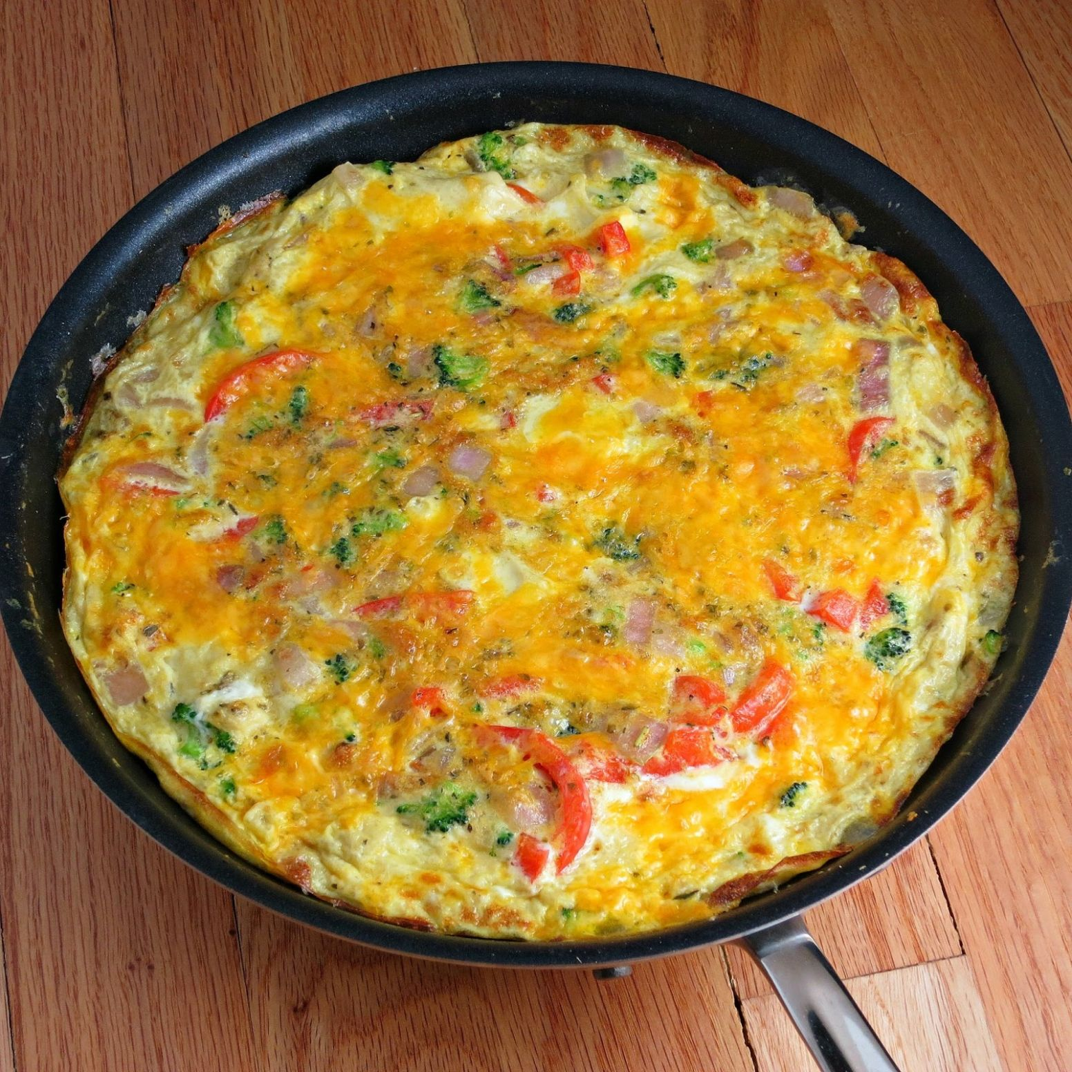 Easy Vegetable Frittata - Xyngular Recipes Vegetable Frittata