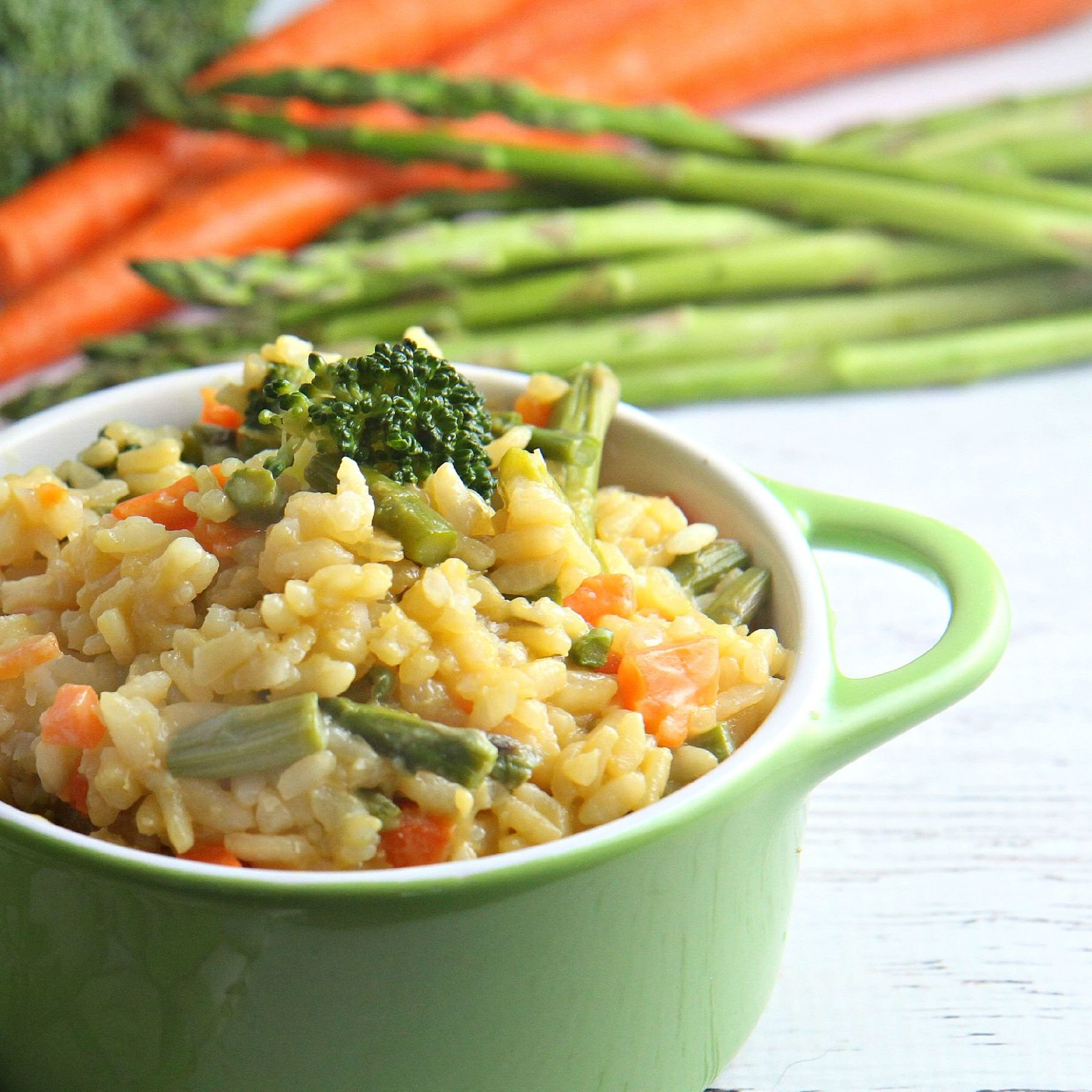 Easy Vegetable Risotto - Recipes Vegetarian Risotto