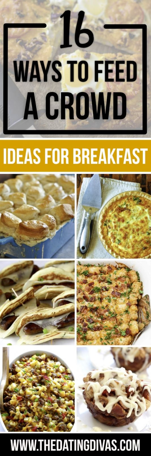 Easy Ways to Feed a Crowd - From  Dating Divas - Breakfast Recipes To Feed A Crowd
