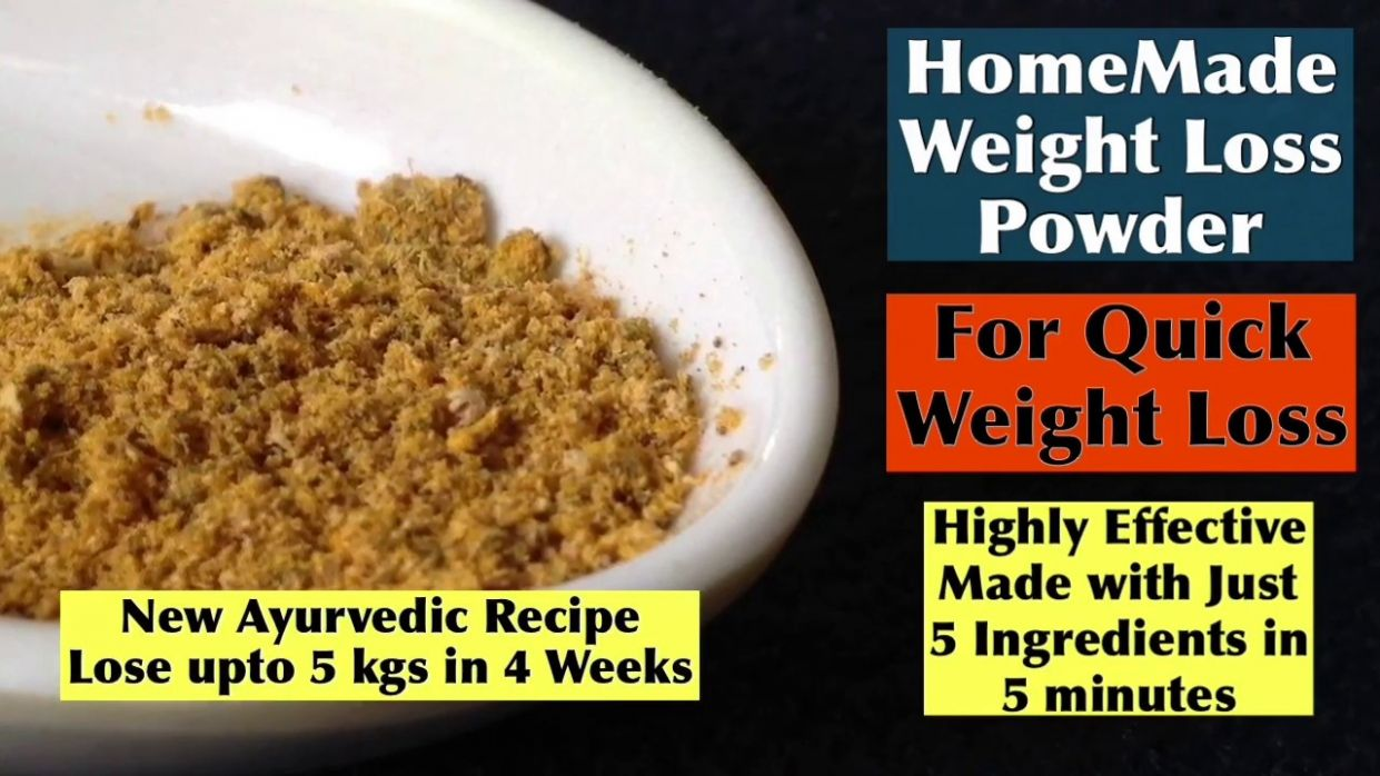 Easy Weight Loss Powder to lose Weight Quickly | HomeMade Fat Melter |  Burns Belly fat Quickly