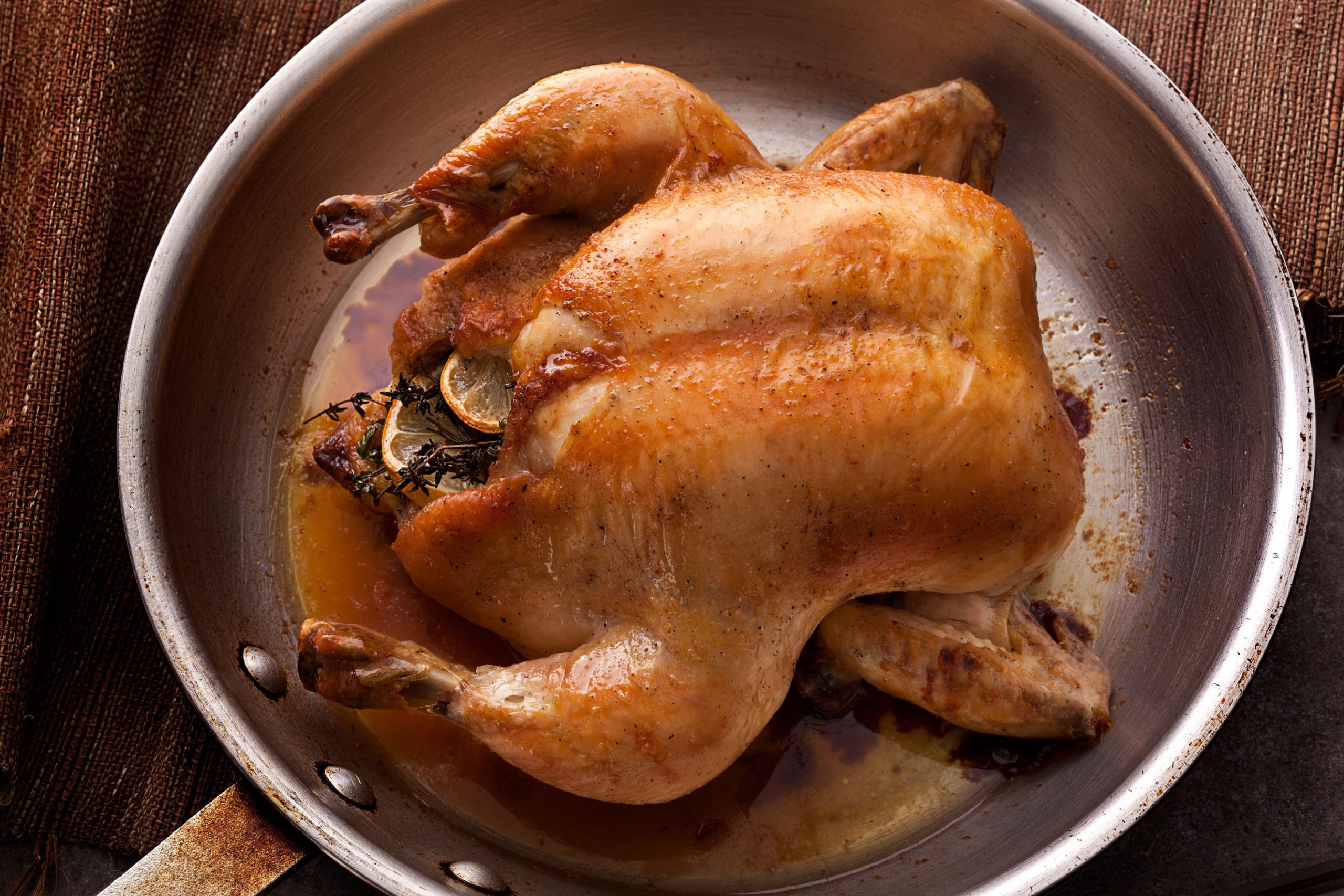 Easy Whole Roasted Chicken