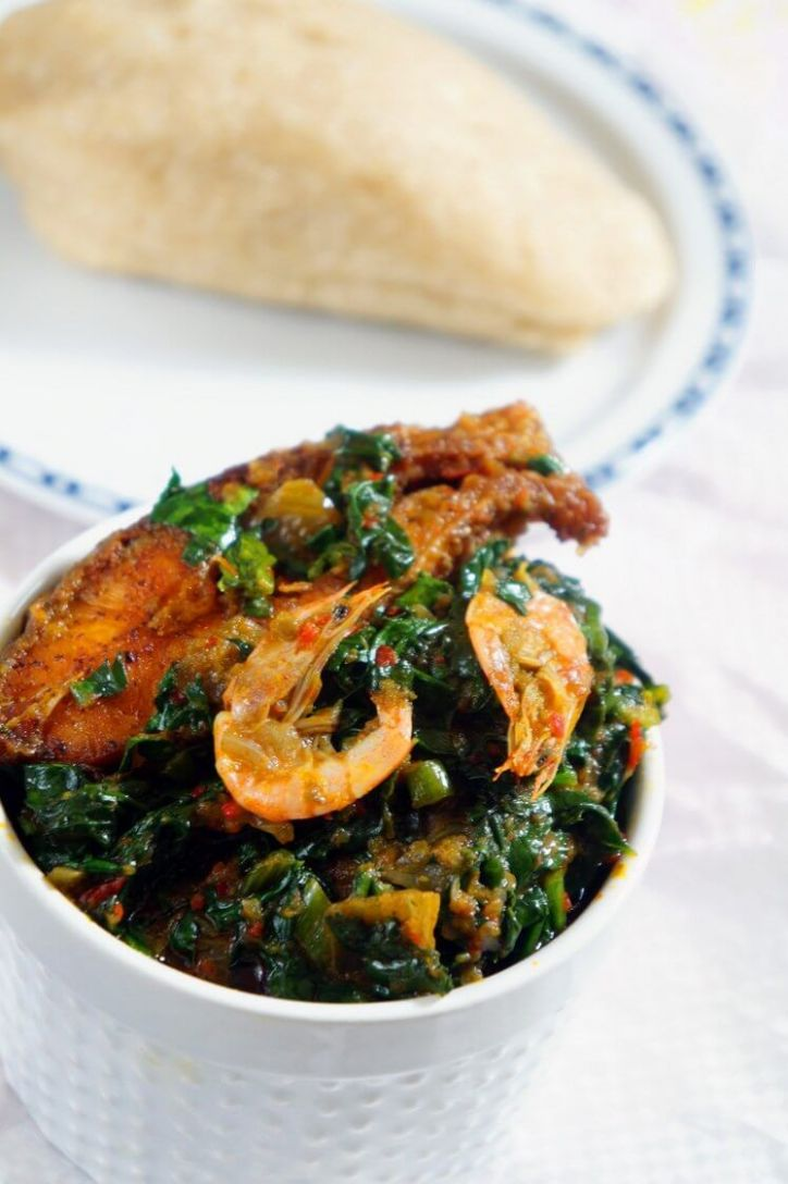 Efo Riro: Nigerian Spinach Stew (Yoruba Vegetable Soup) - Recipes Nigerian Vegetable Soup