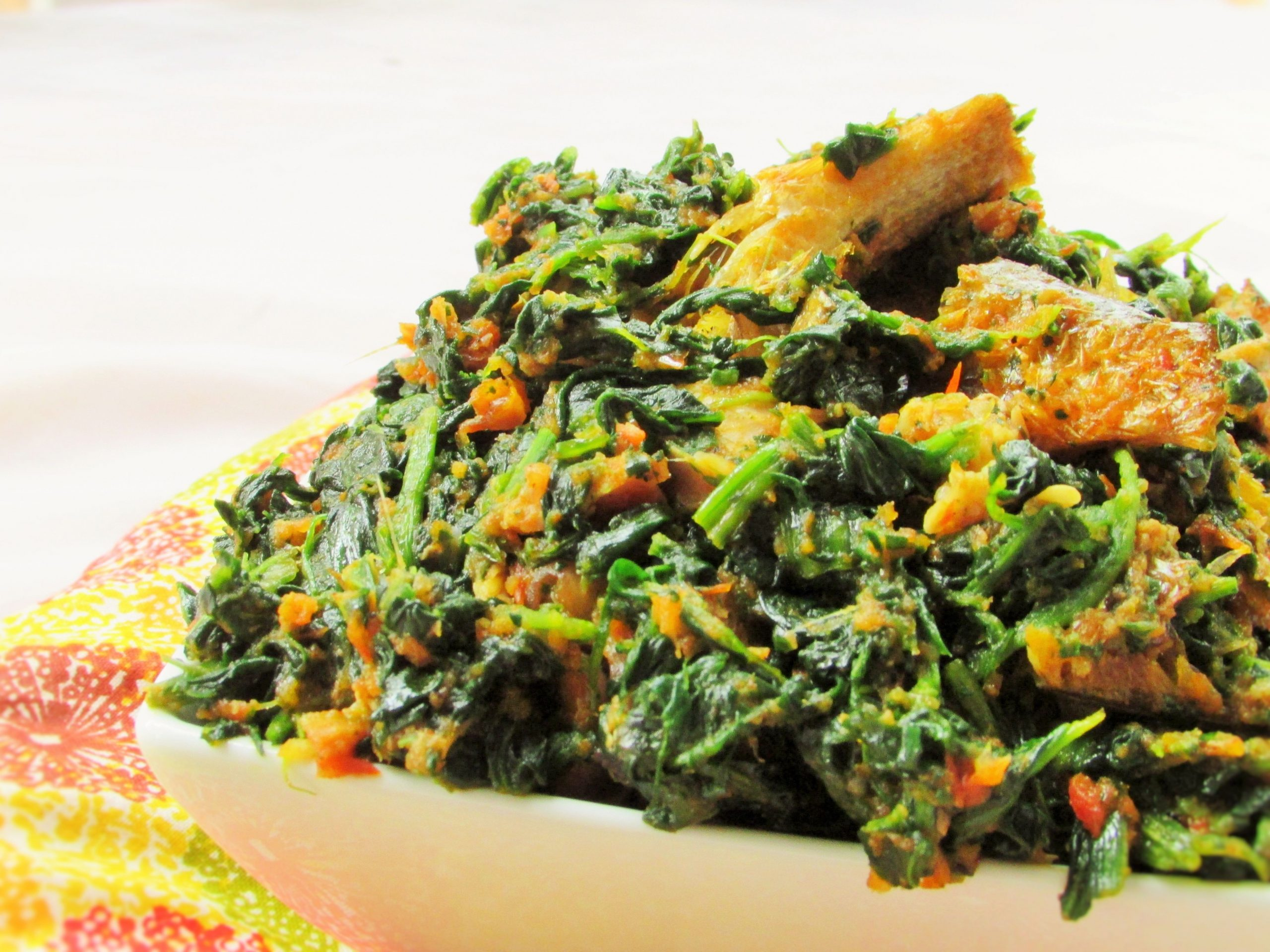 Efo' Riro (No Reason Why I Boiled It)