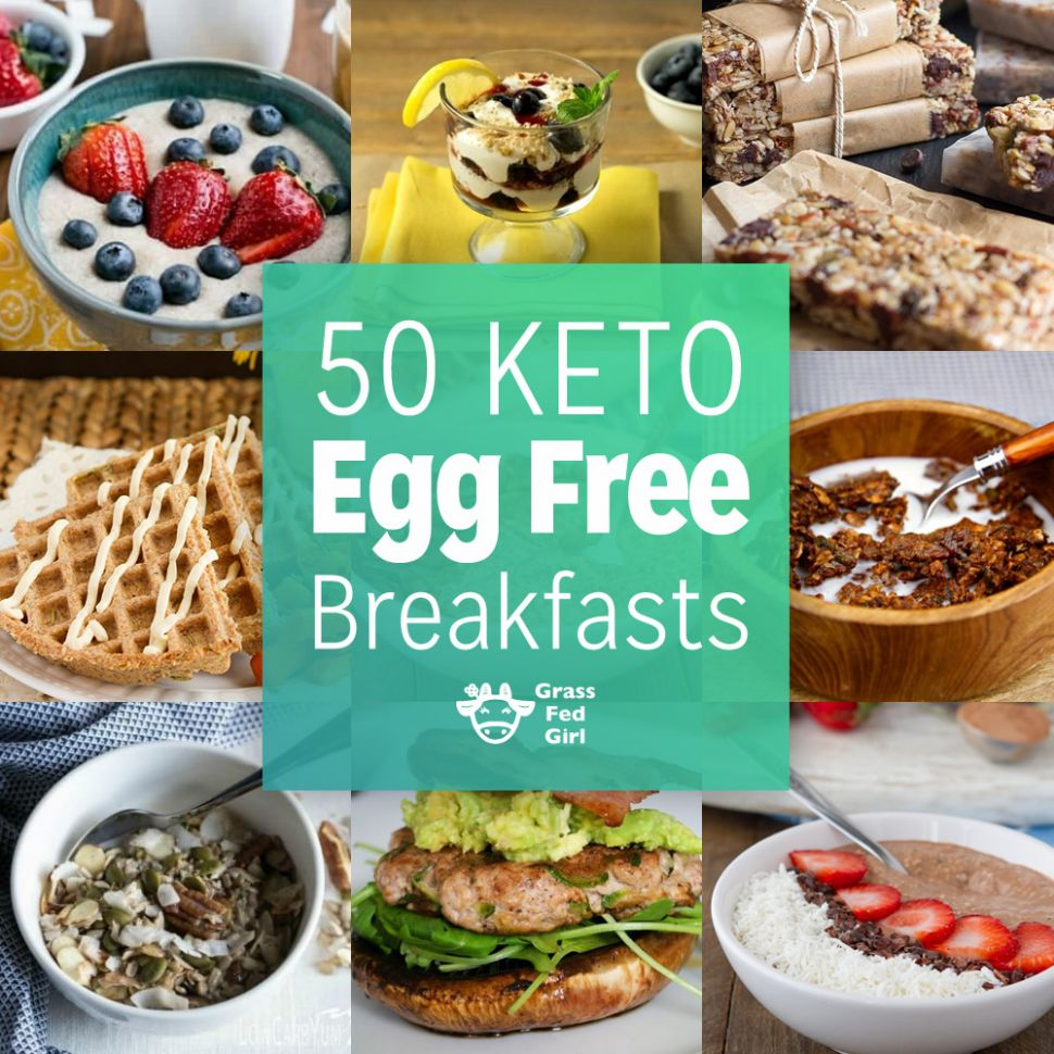 Egg Free Low Carb and Keto Breakfasts - Breakfast Recipes Without Eggs