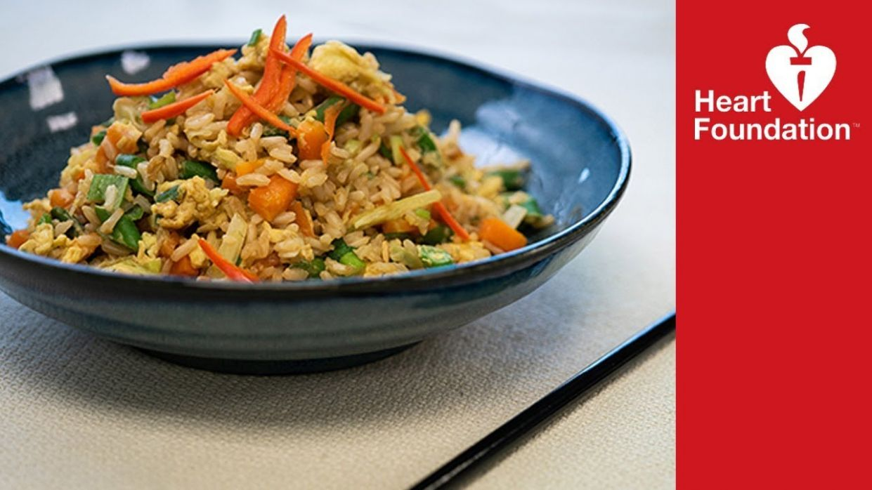 Egg fried rice - healthier recipe | Heart Foundation NZ - Healthy Recipes Nz