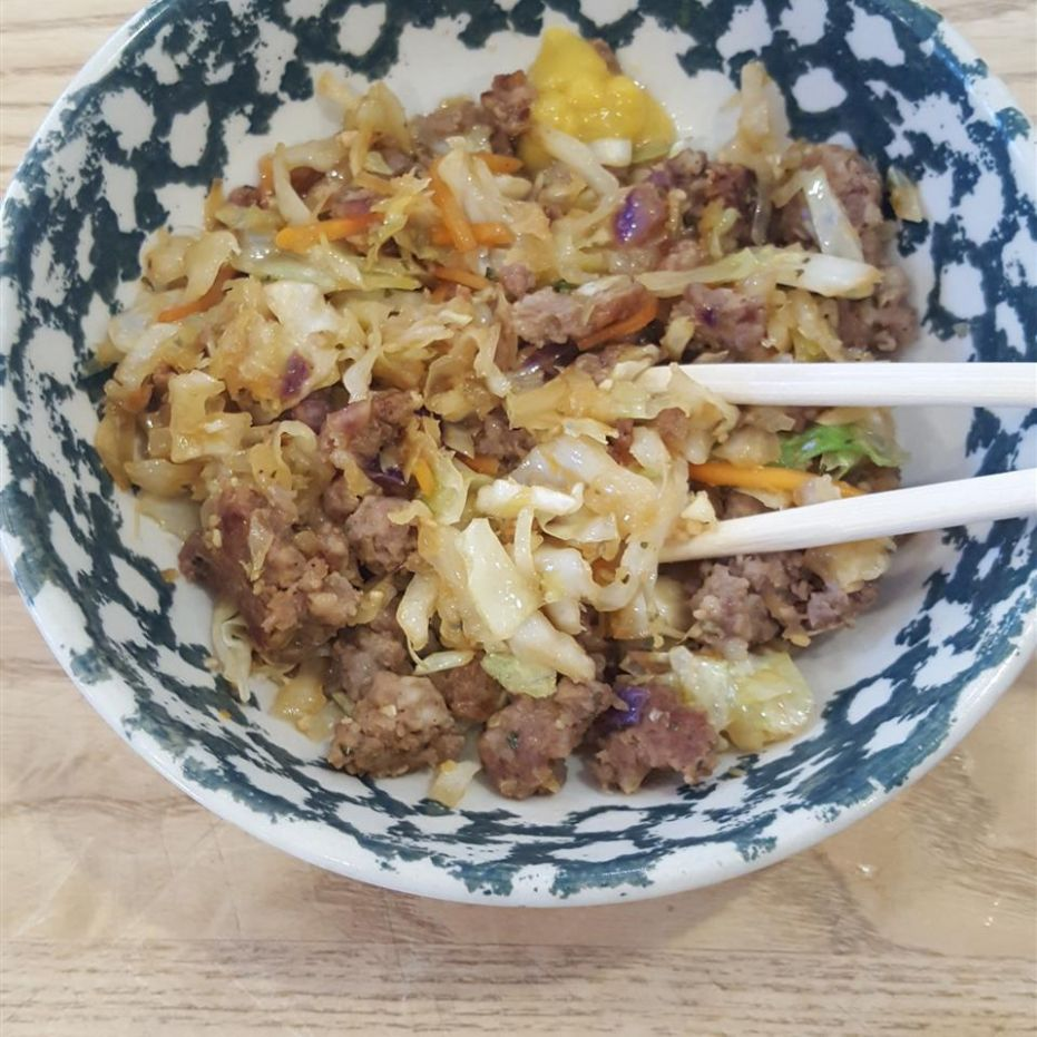 Egg Roll Bowl - All Recipes Egg Roll In A Bowl