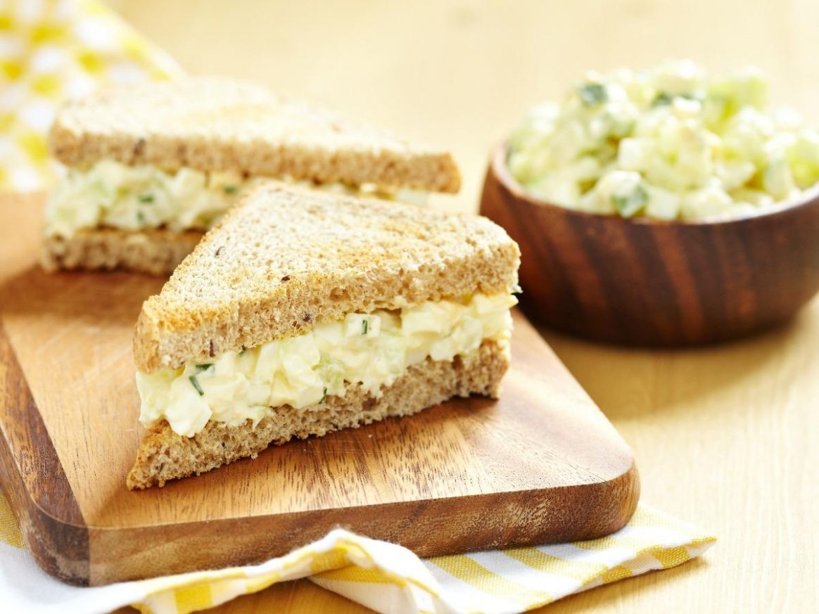 Egg Salad Sandwich - Sandwich Recipes With Nutritional Value