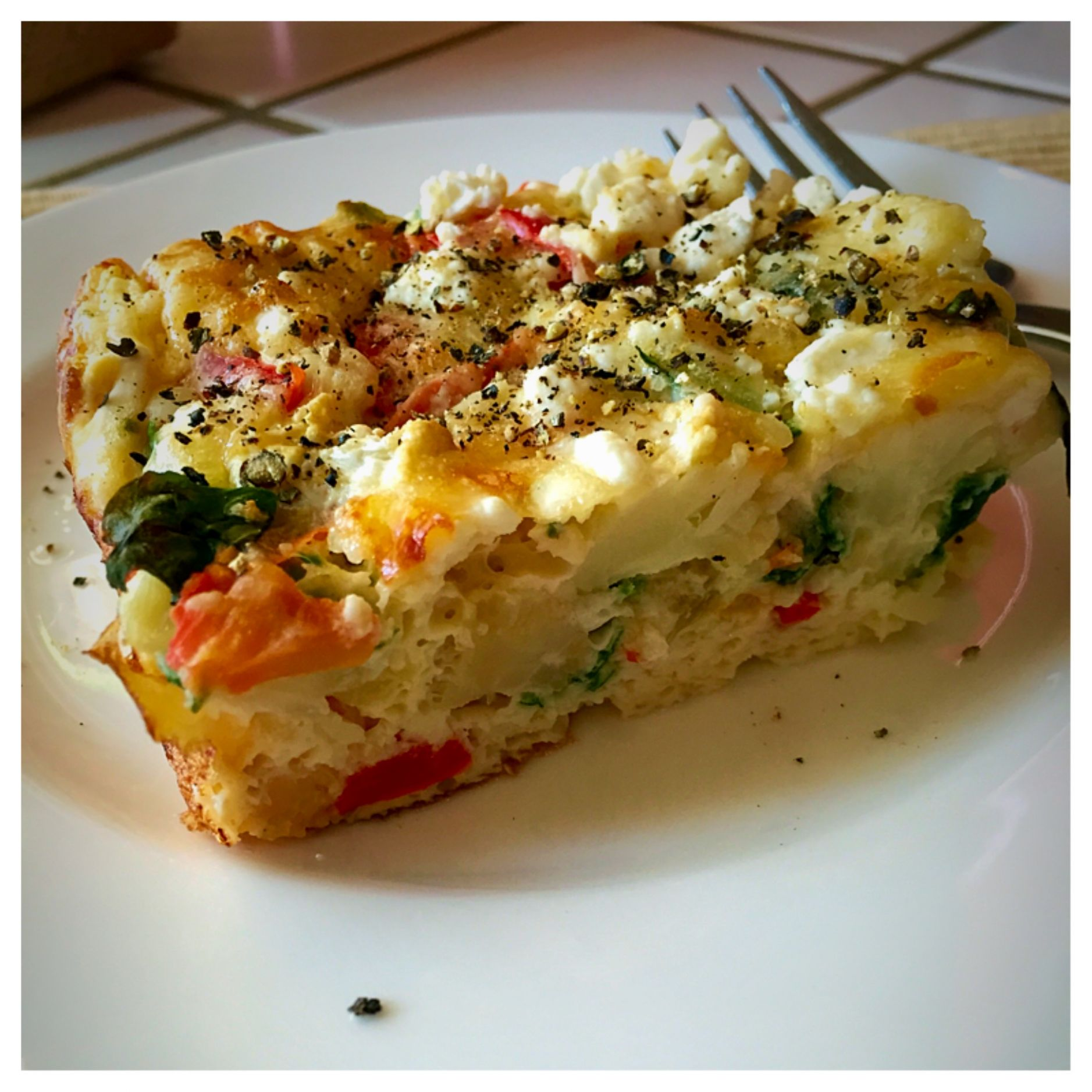 Egg White Vegetable Frittata - Recipe Egg White Frittata