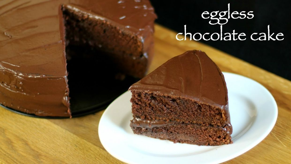 eggless chocolate cake recipe | eggless cake recipe