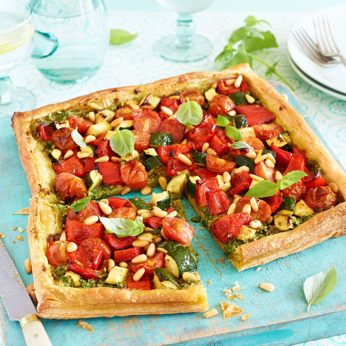 End of summer tart - Summer Recipes Good Housekeeping