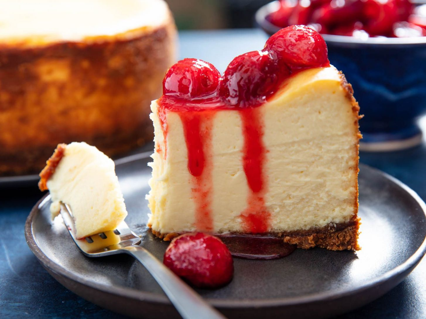 Epic New York Cheesecake From BraveTart Recipe - Dessert Recipes Cheesecake