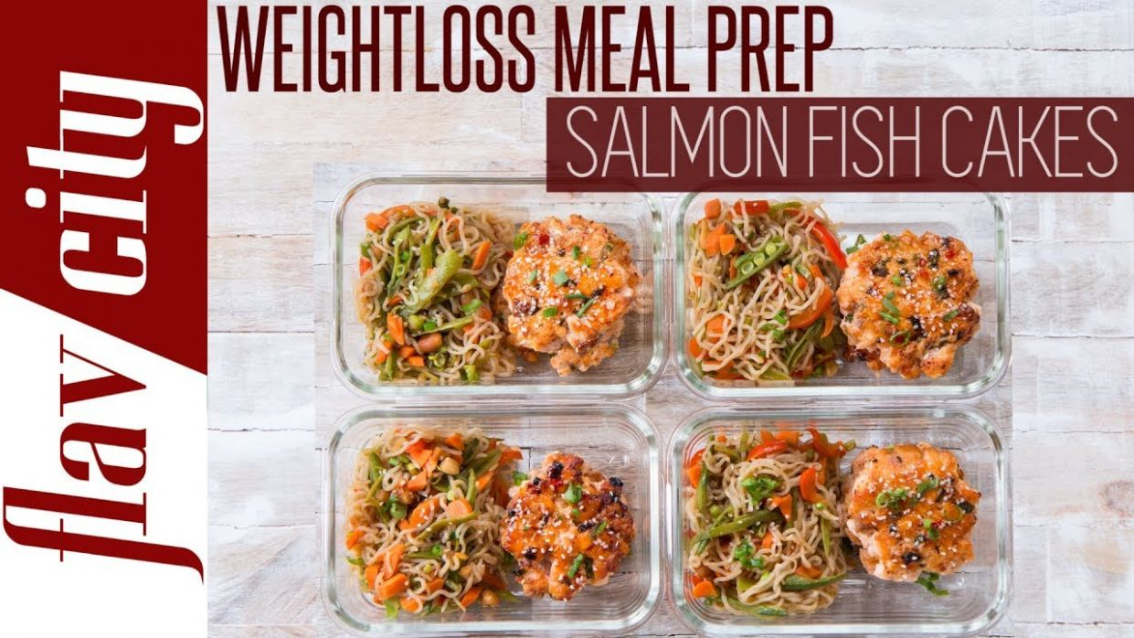 Epic Recipes For Weight Loss Under 12 Calories - Healthy Salmon Meal Prep - Healthy Recipes To Lose Weight