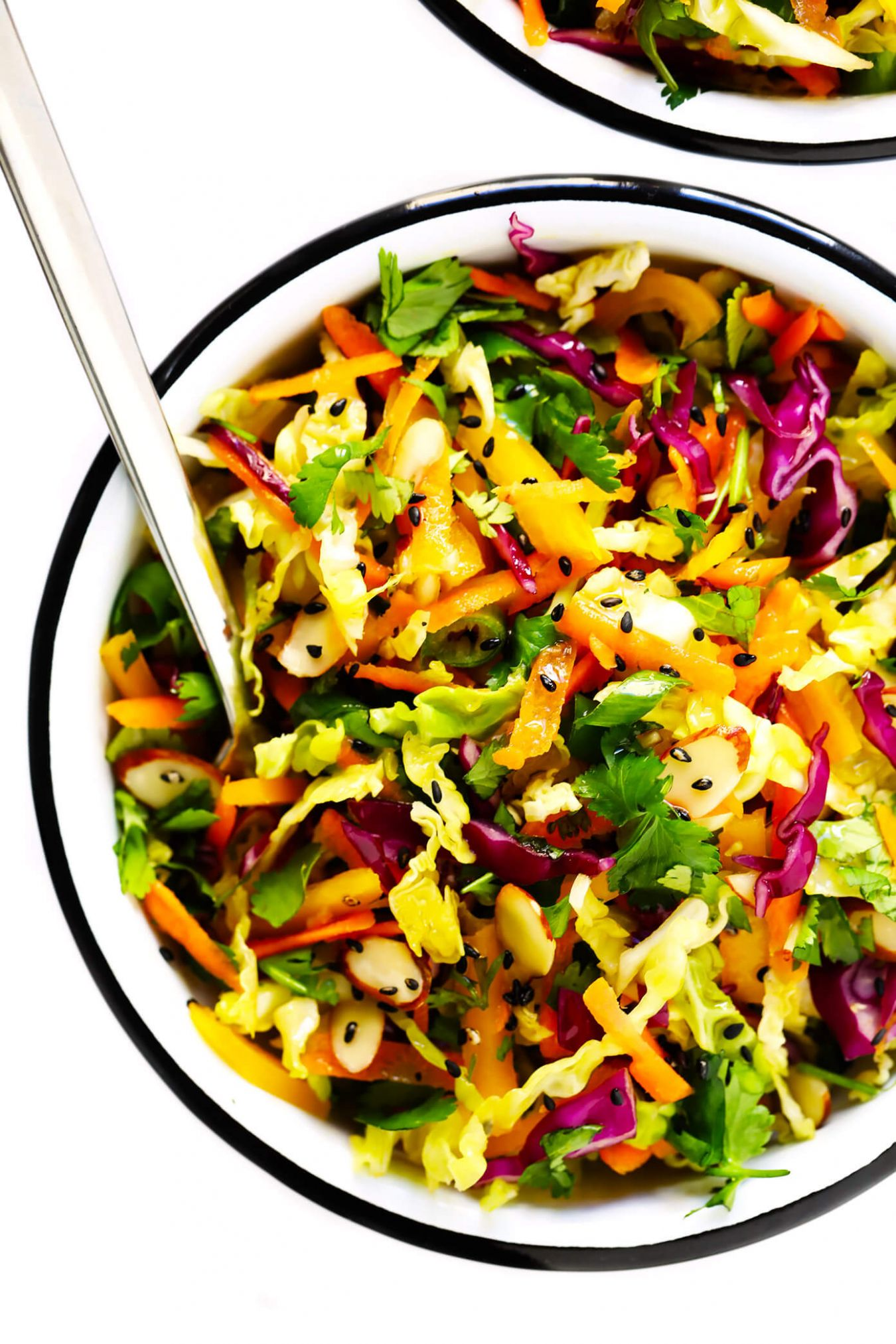 Everyday Sesame Asian Slaw - Salad Recipes Asian
