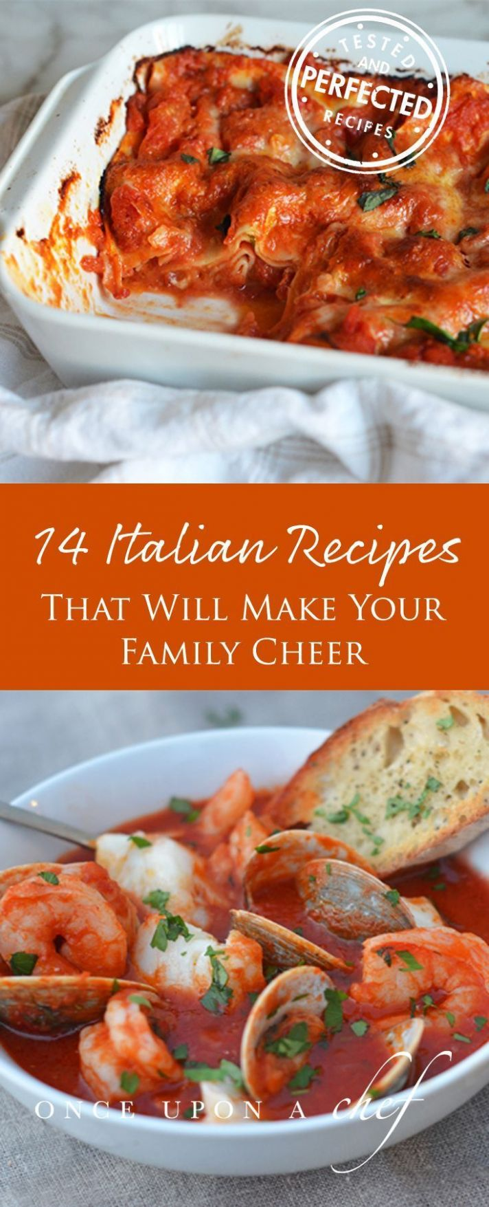 Everyone Loves Italian: 8 Recipes That Will Make Your Family ..