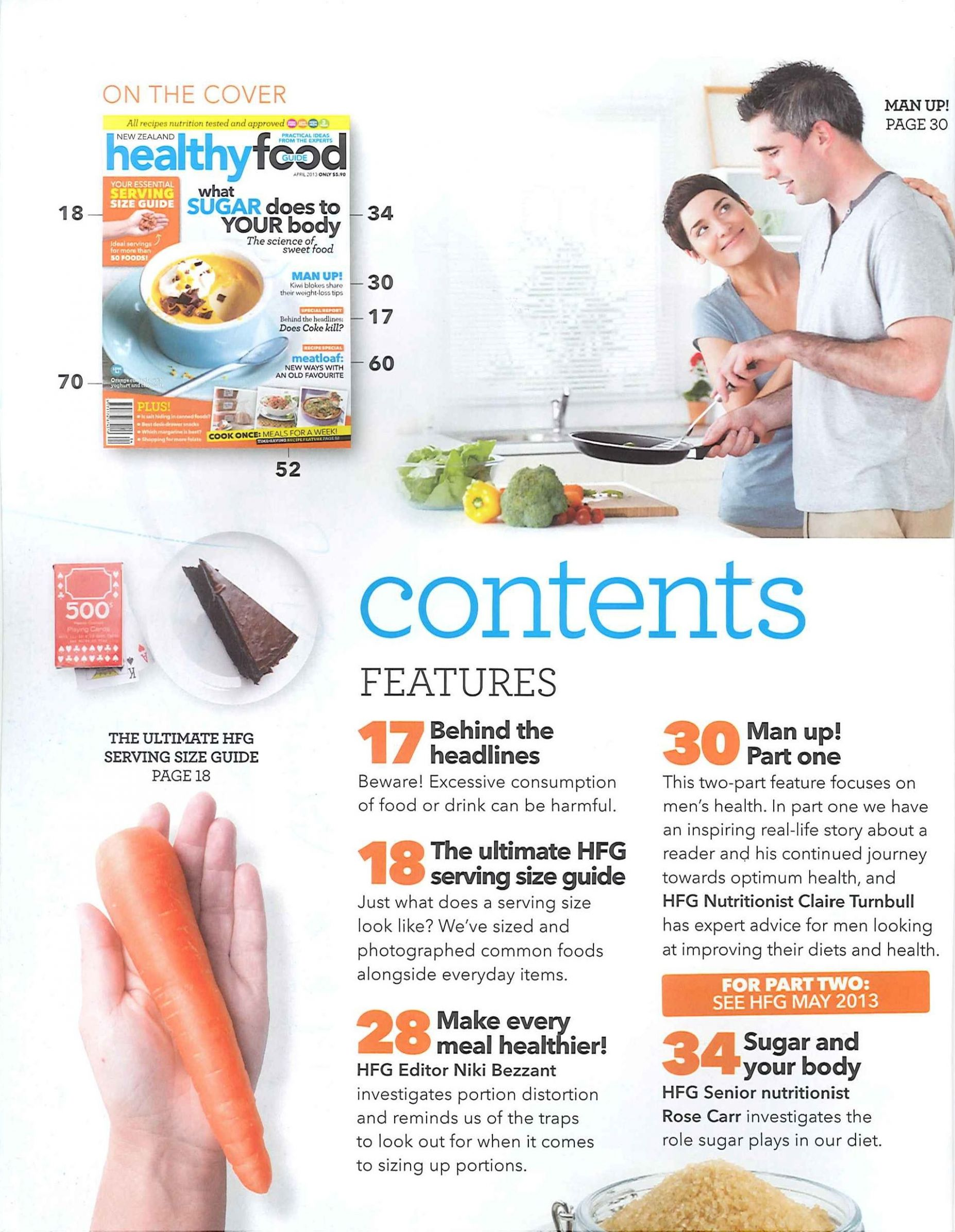 Excellent Examples of Table of Contents (8/8) healthy-food ..