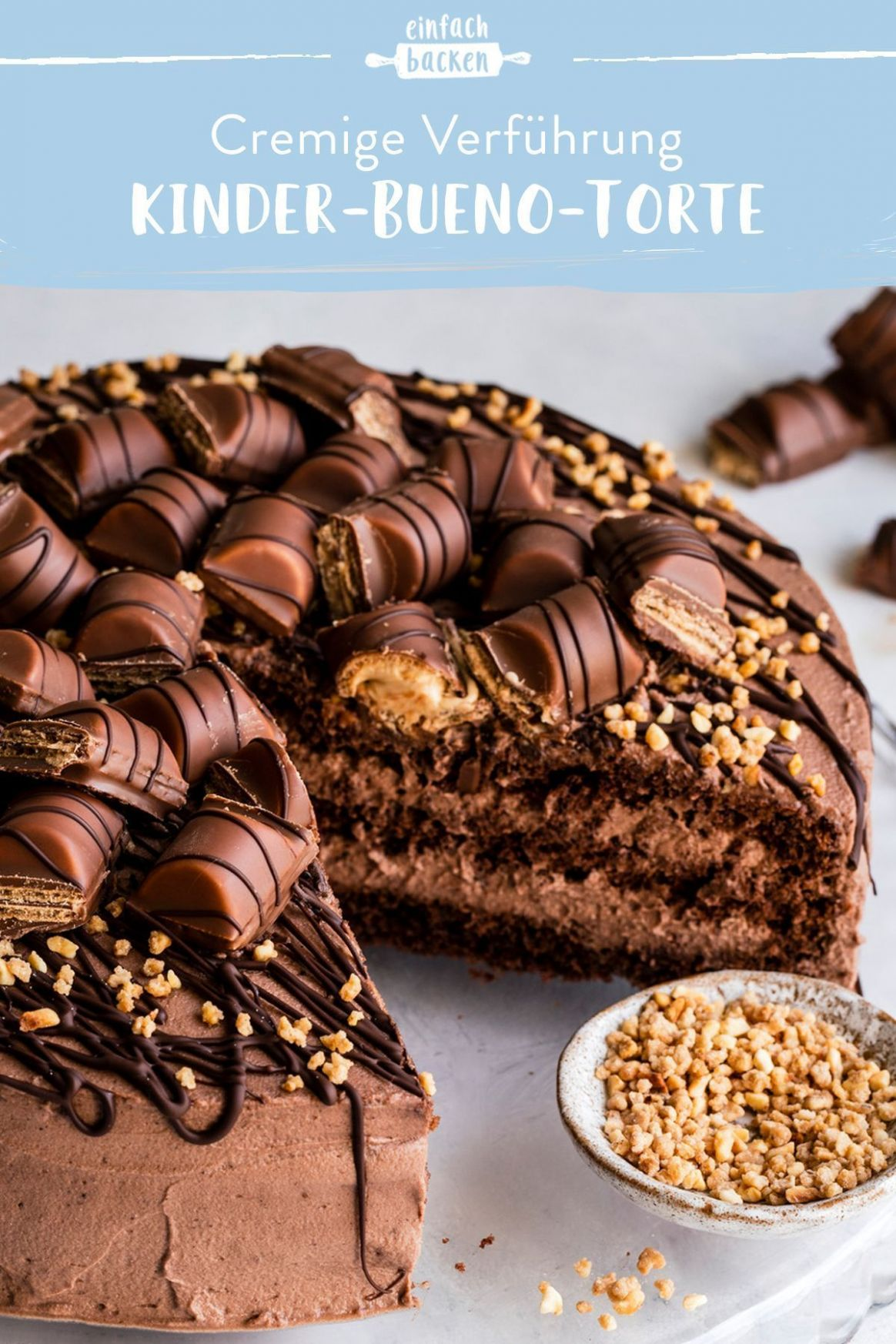 Excellent Photo Kinder bueno cake - my blog Ideas Whether steamy ...