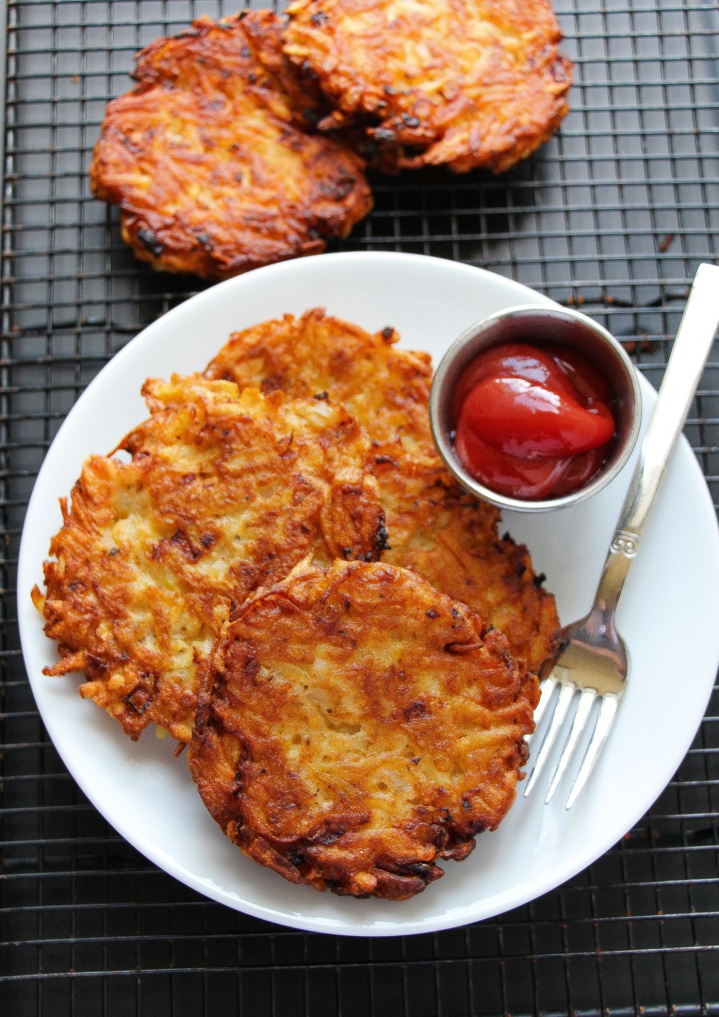 Extra Crispy Restaurant Style Hashbrown Patties - Simple Recipes Hash Browns