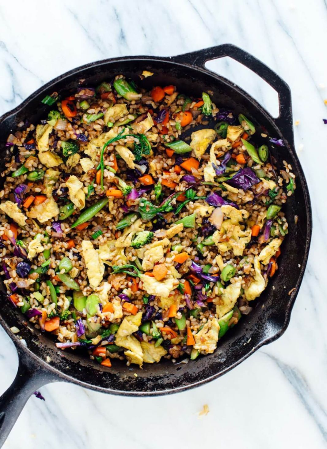 Extra Vegetable Fried Rice - Cookie and Kate - Rice Recipes Dinner Vegetarian