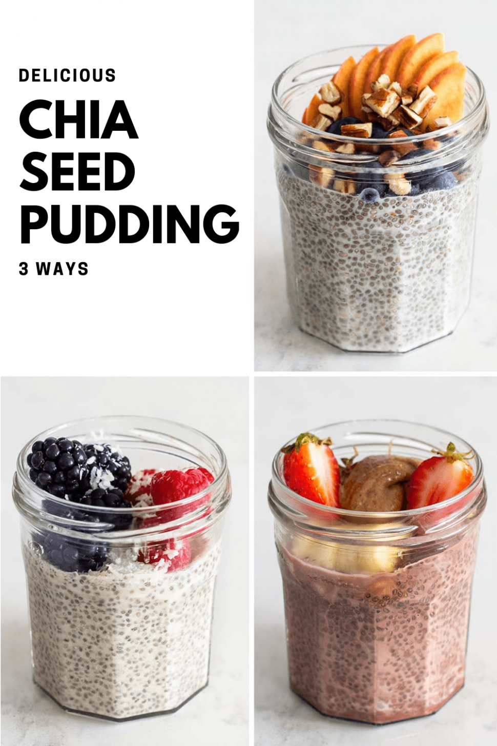 Failproof Chia Seed Pudding - Green Healthy Cooking