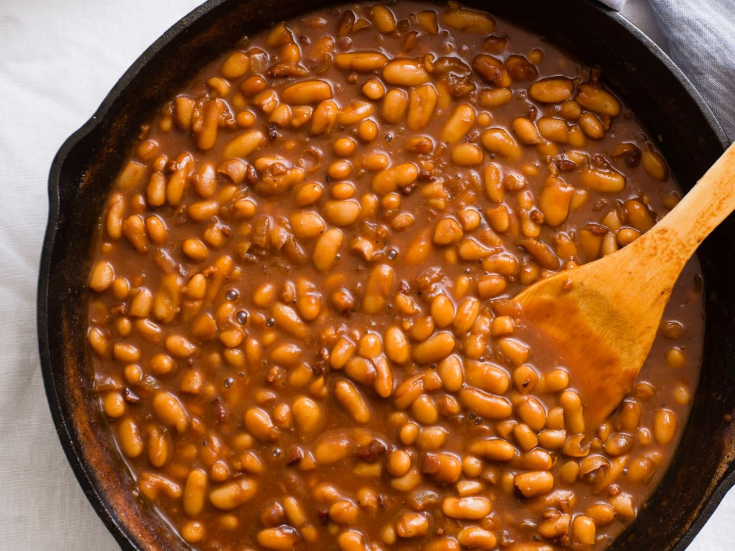 Fast and Fancy Pork and Beans - Recipe Pork And Beans