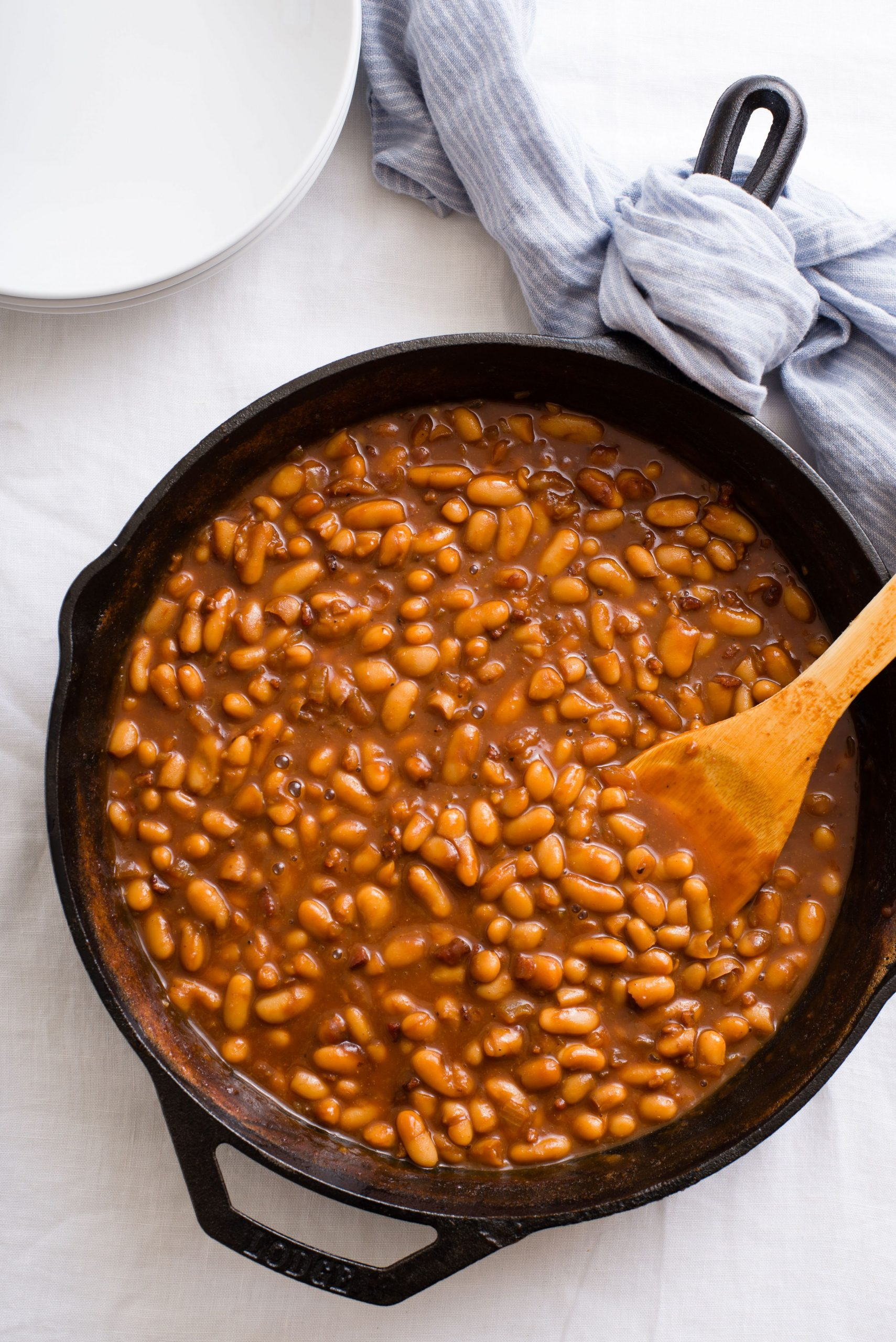 Fast and Fancy Pork and Beans