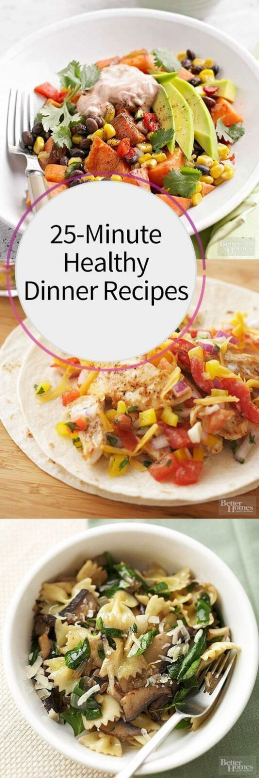 FAST and Healthy Dinner Recipes For Every Single Day of the Month ...