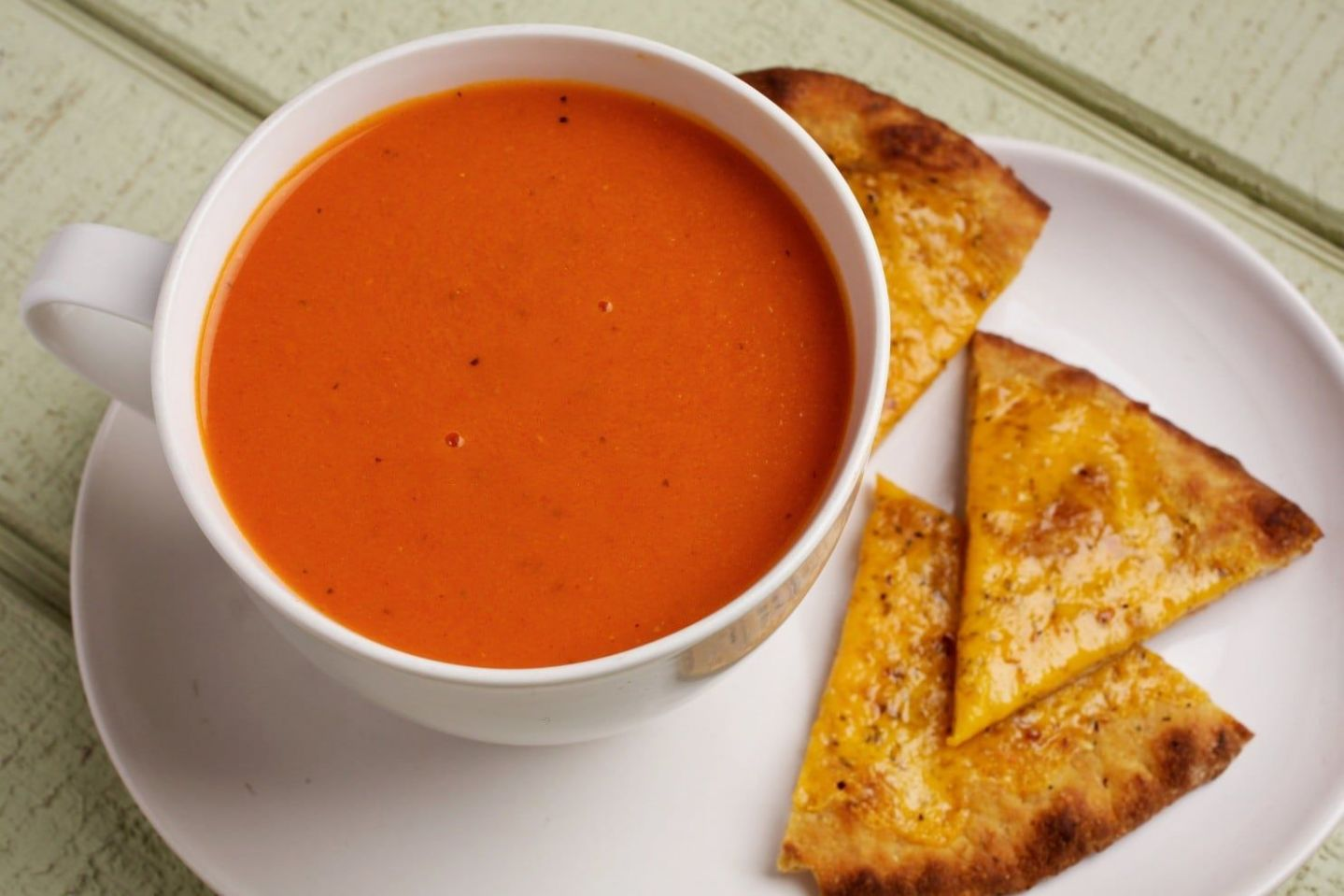 Fast Blender Tomato Soup - Soup Recipes No Blender