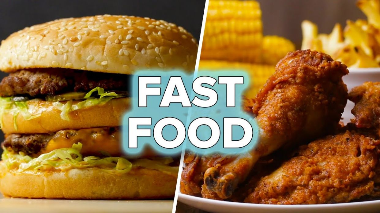 Fast Food Recipes You Can Make At Home - Cooking Recipes At Home