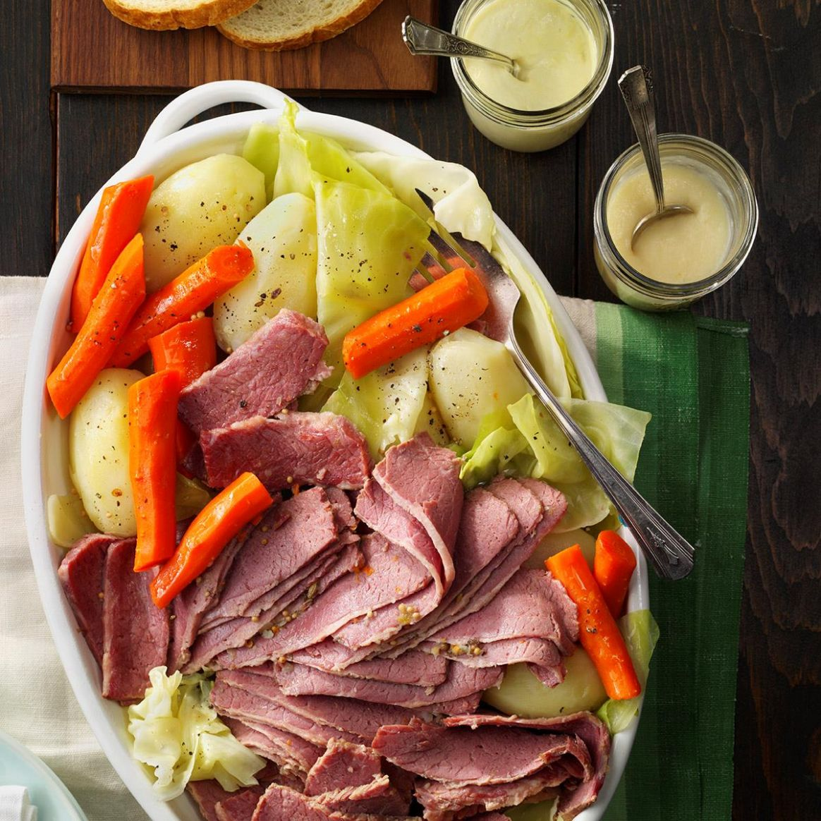 Favorite Corned Beef and Cabbage - Recipes Cooking Corned Beef