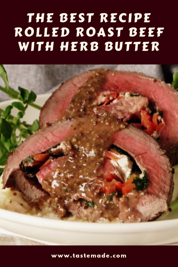 Favorite Cuisine Group: The Best Recipe Rolled Roast Beef with ..