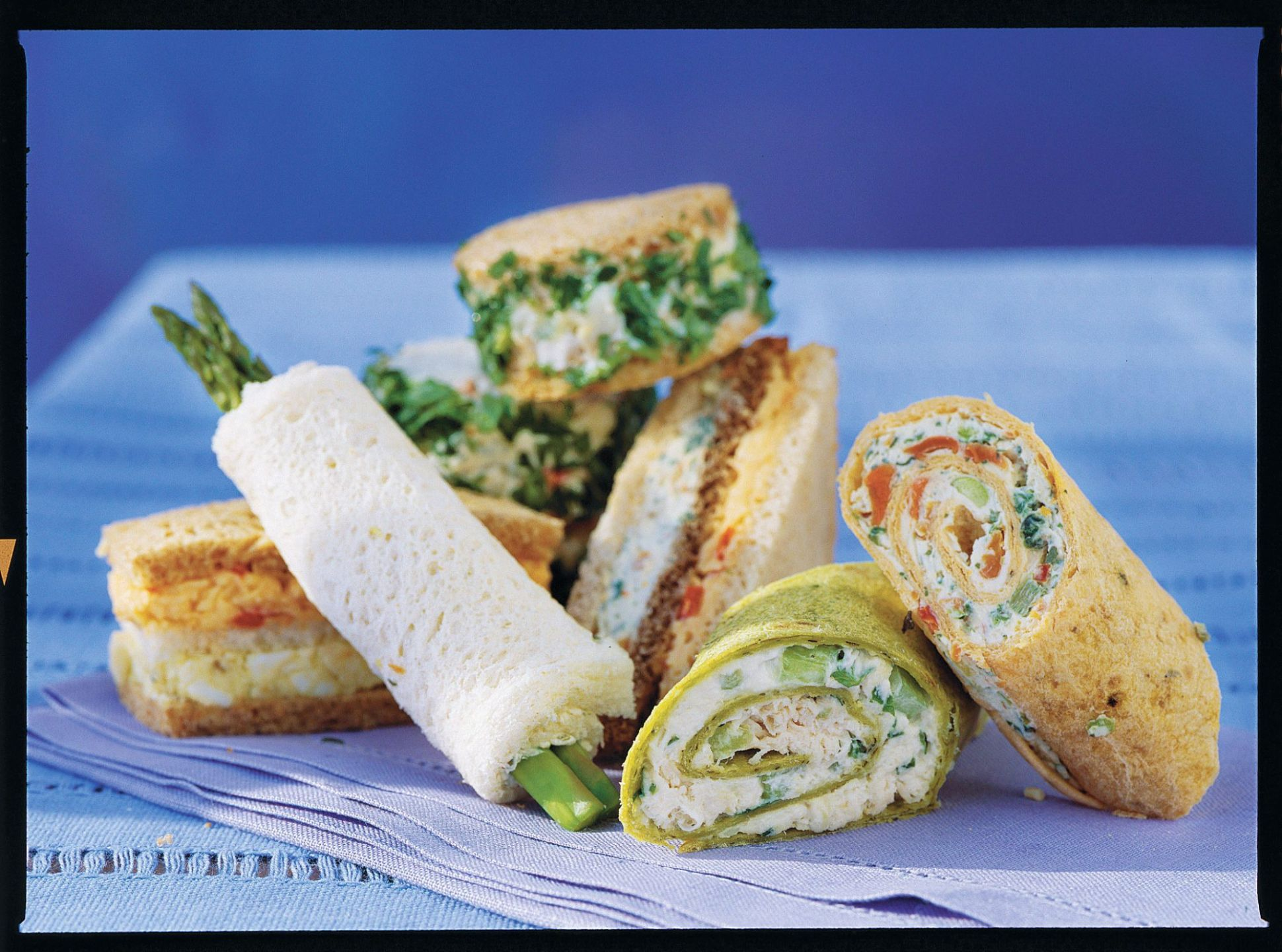 Favorite Finger Sandwiches for a Luncheon | Southern Living - Recipes Sandwich Fillings Party