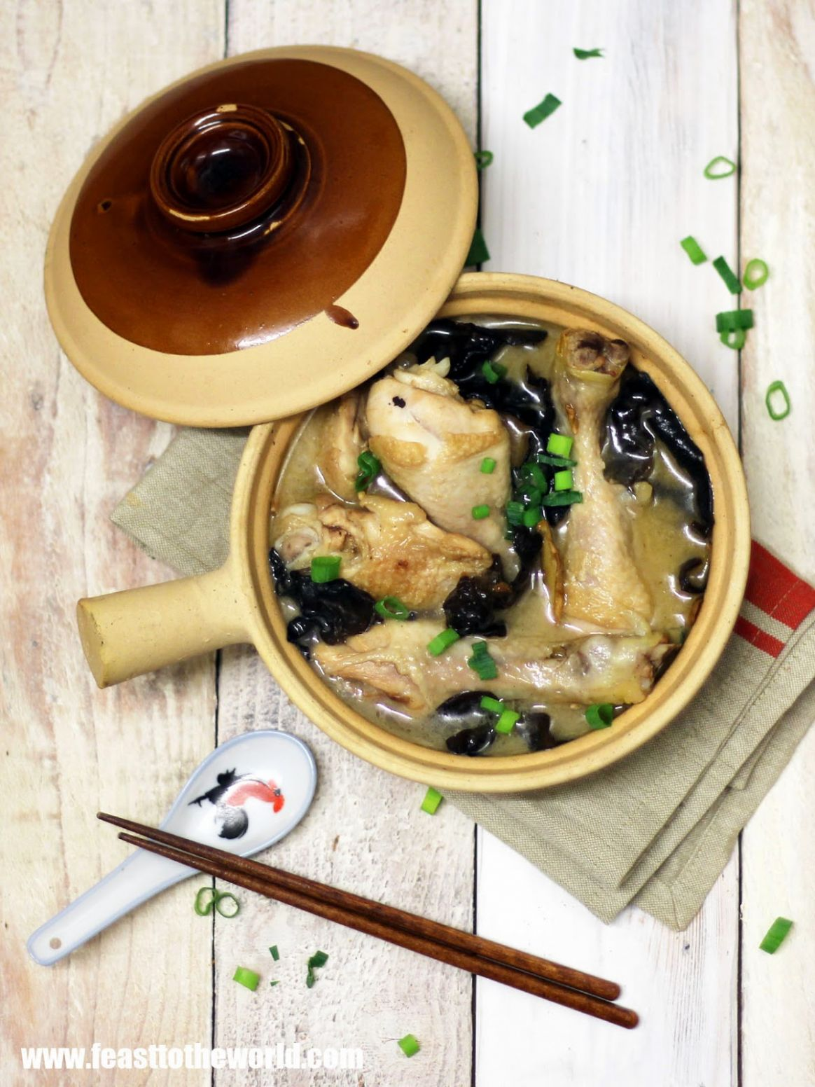 FEAST to the world: Hakka Yellow Glutinous Rice Wine Chicken 客家 ..