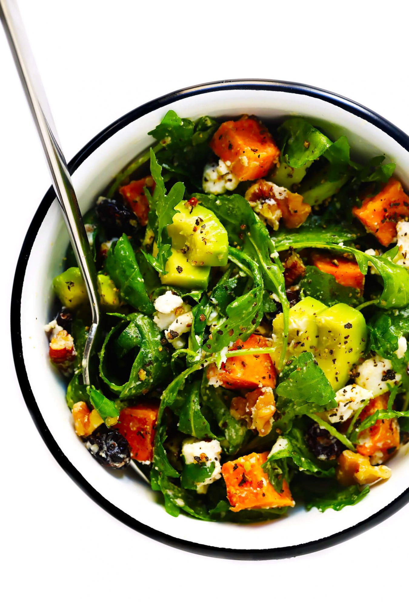 Feel-Good Fall Salad | Gimme Some Oven - Salad Recipes Autumn